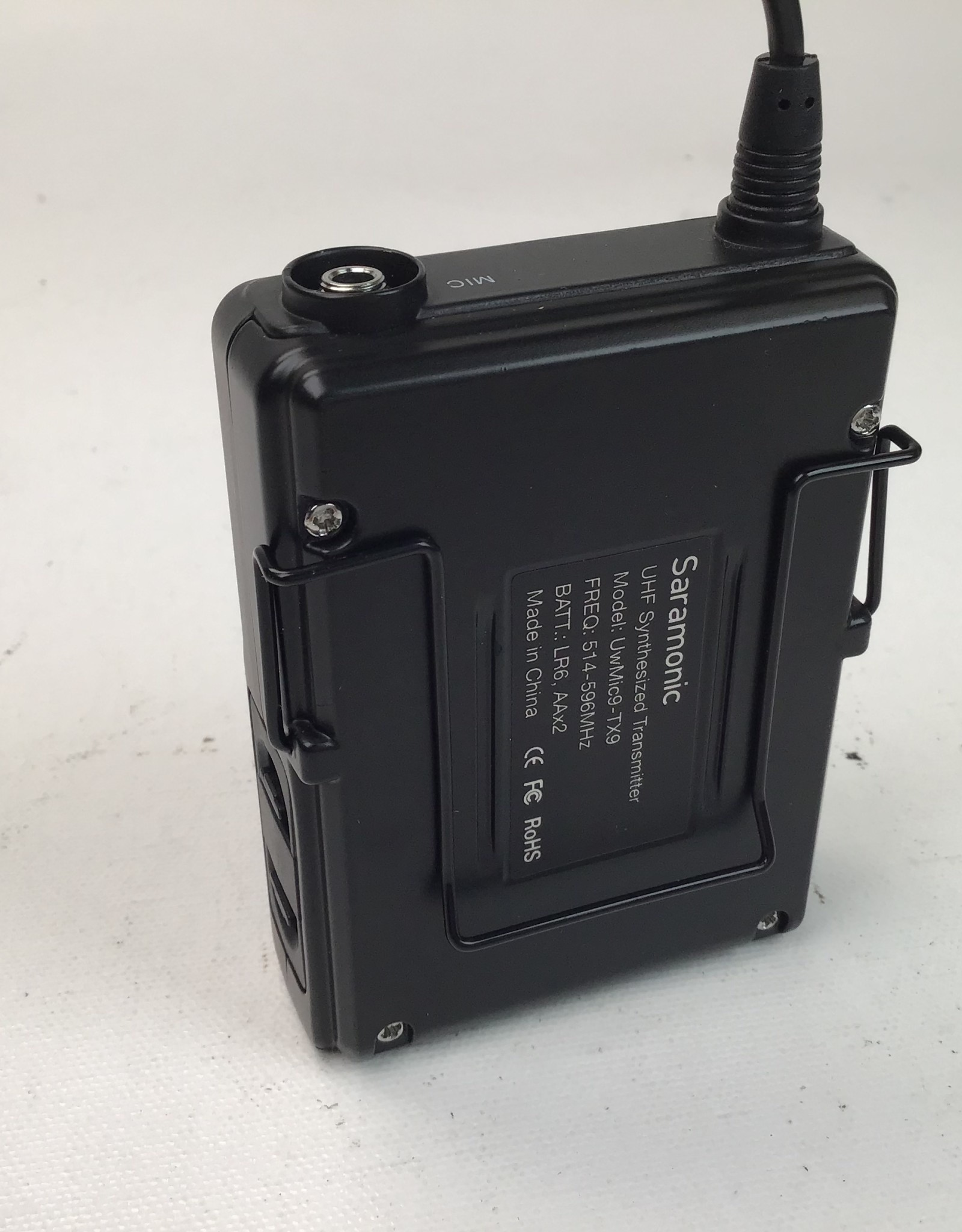 SARAMONIC UWMIC9TX9 - Transmitter W/LAV Used Good