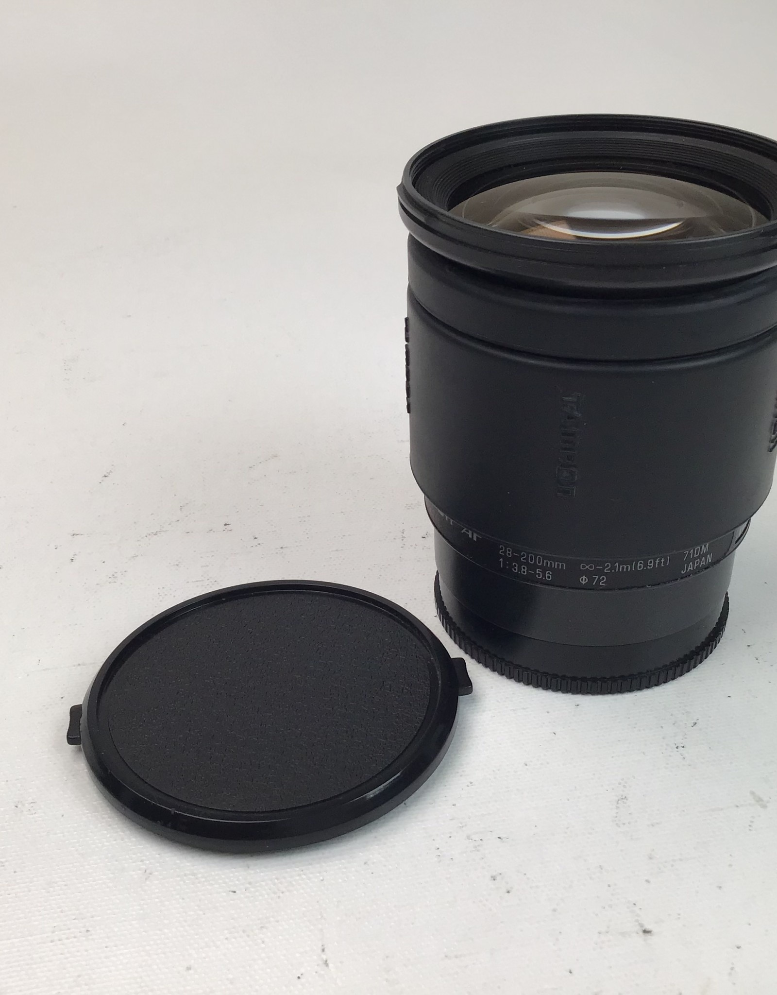 TAMRON Tamron 28-200mm f3.8-5.6 Lens For Maxxum Used Fair