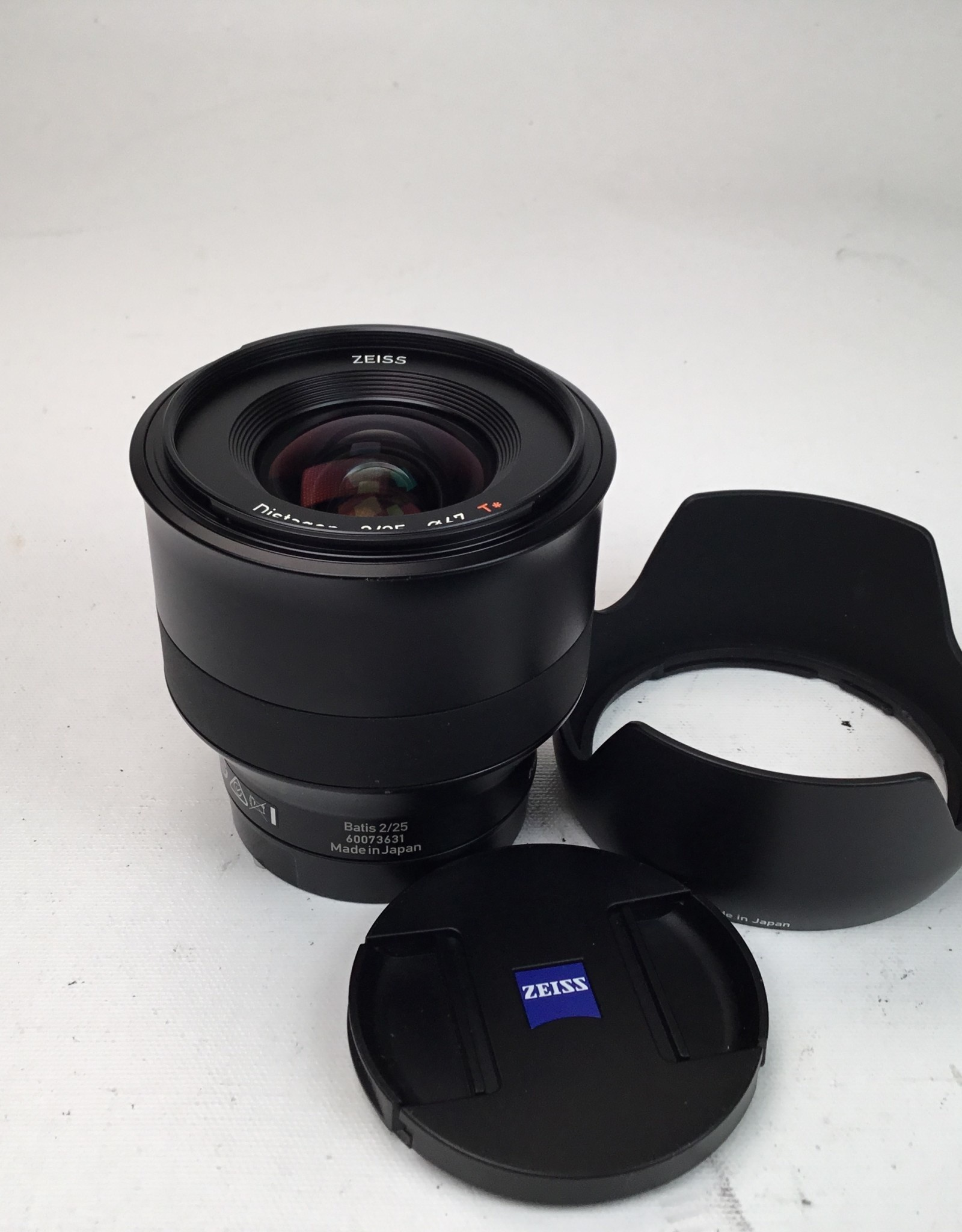 ZEISS Zeiss Batis 25mmmm f2.8 Lens for Sony E Used EX