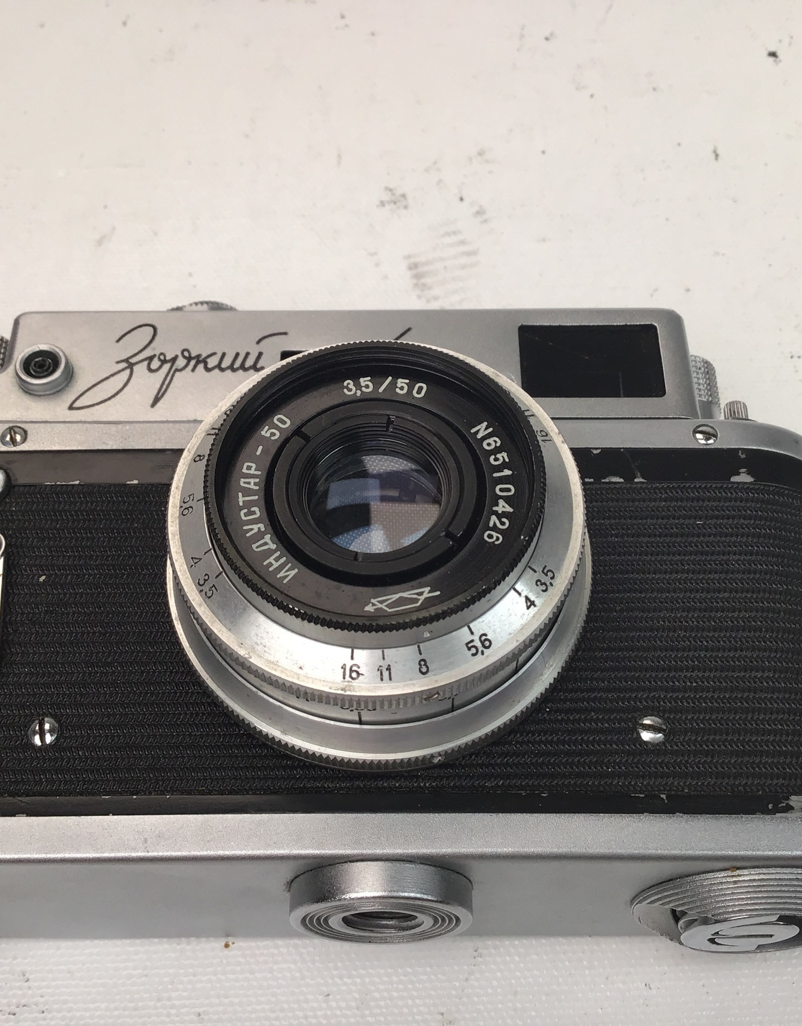 Fed 4 Camera with 50mm f3.5 Used Fair