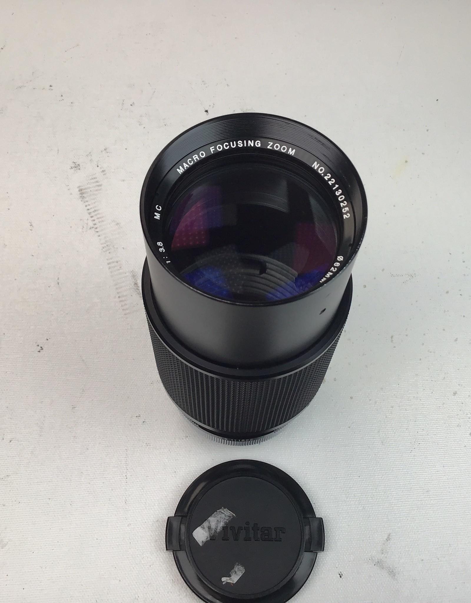 Vivitar Vivitar 75-205mm f3.8 Macro Focusing Lens for Canon FD Used Good.