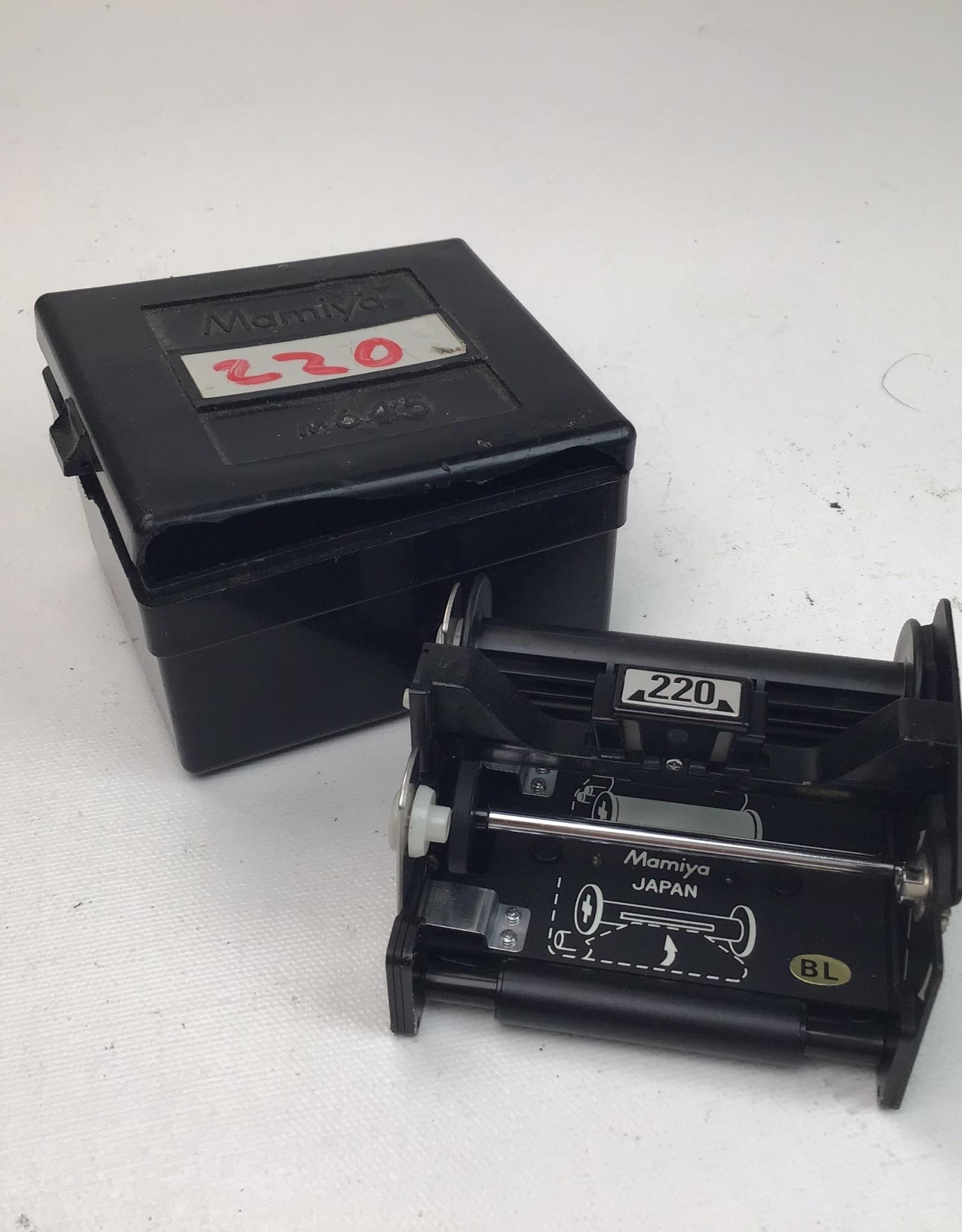 MAMIYA Mamiya 645 220 Film Insert Used Good