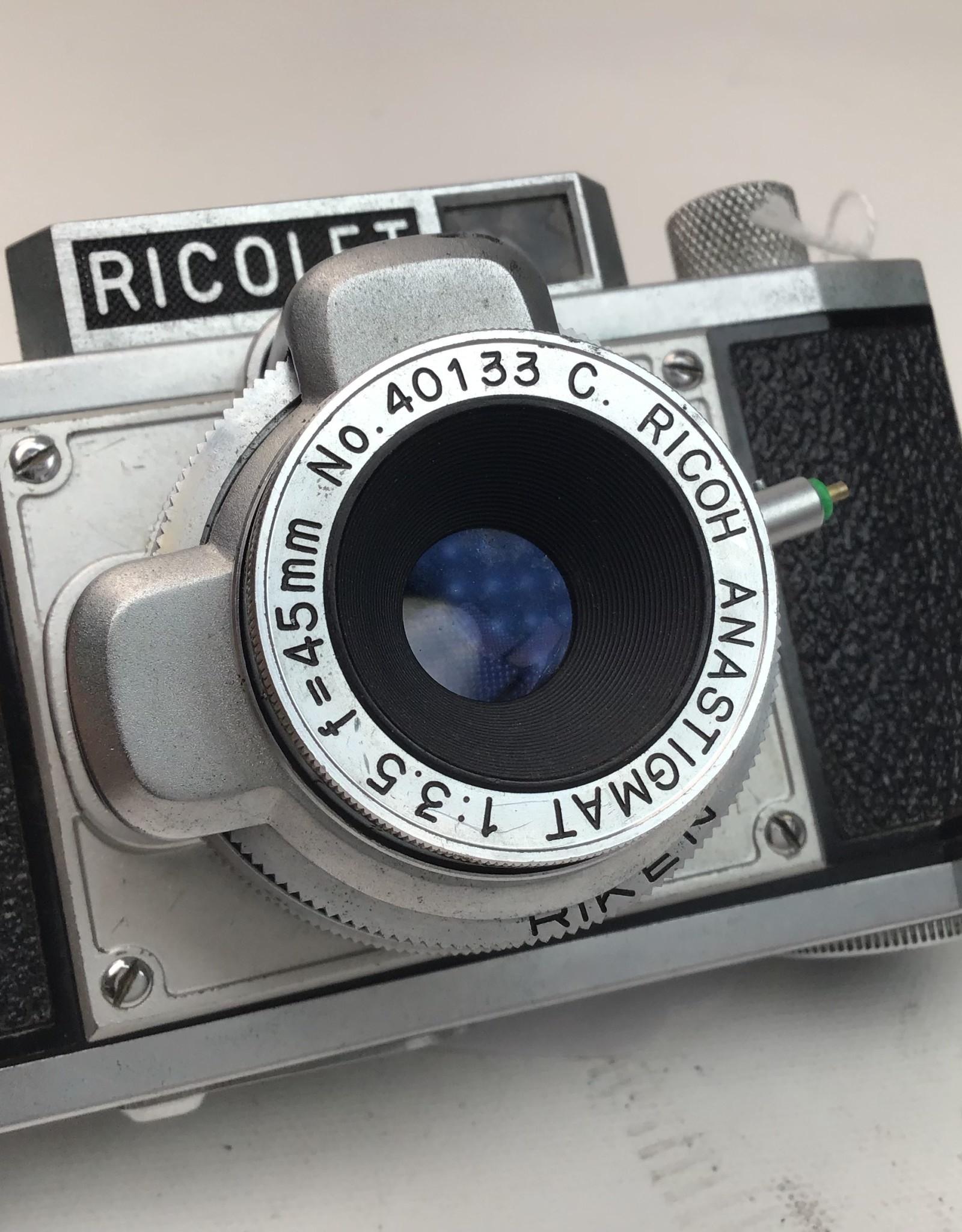 Ricolet Vintage 35mm Film Camera Used Disp