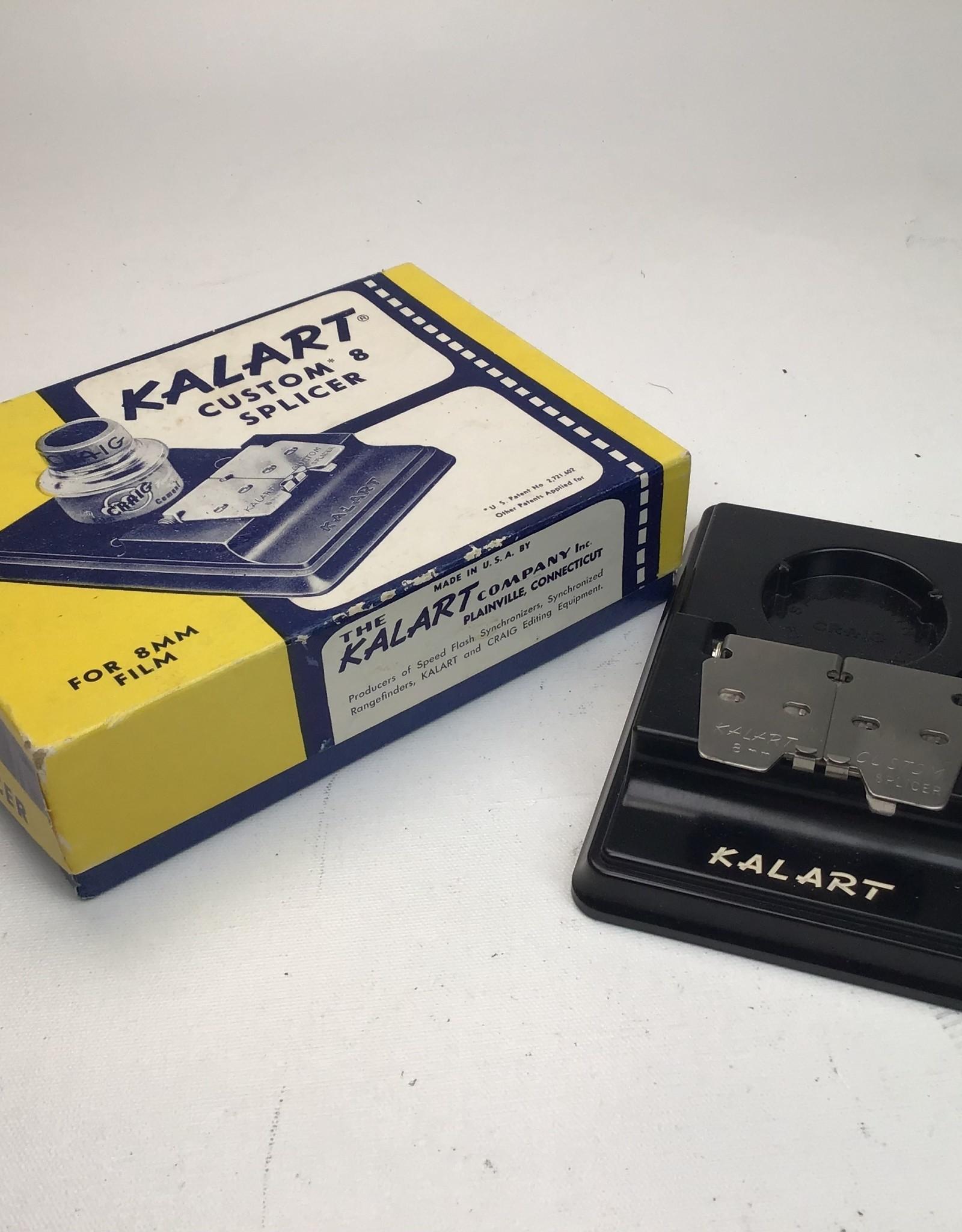 Kalart 8mm Film Splicer in Box Used EX