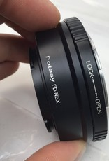 Fotasy Canon FD to Sony E Mount Adapter Used Good