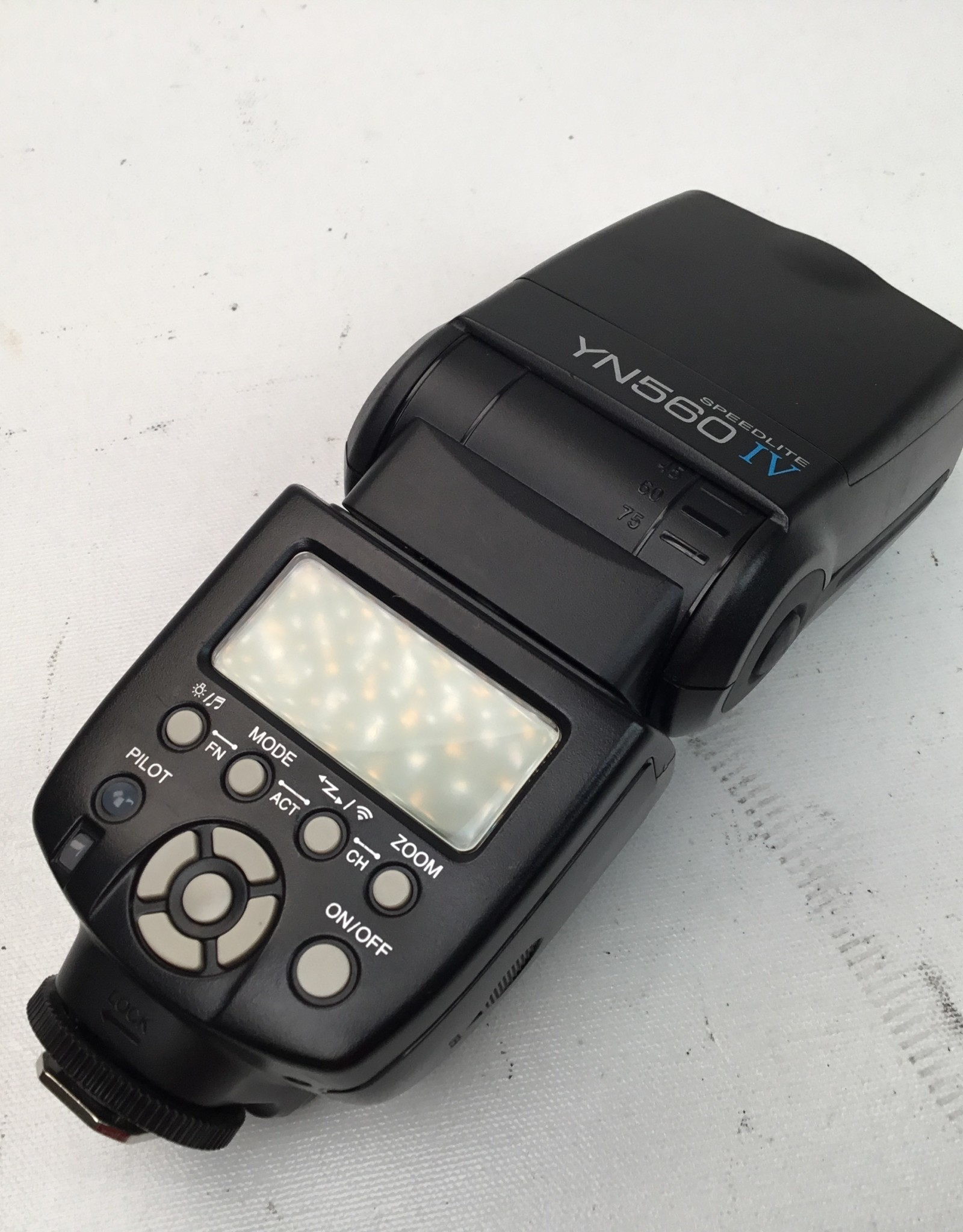YONGNUO Yongnoa YN560 IV Speedlite Flash Used Good