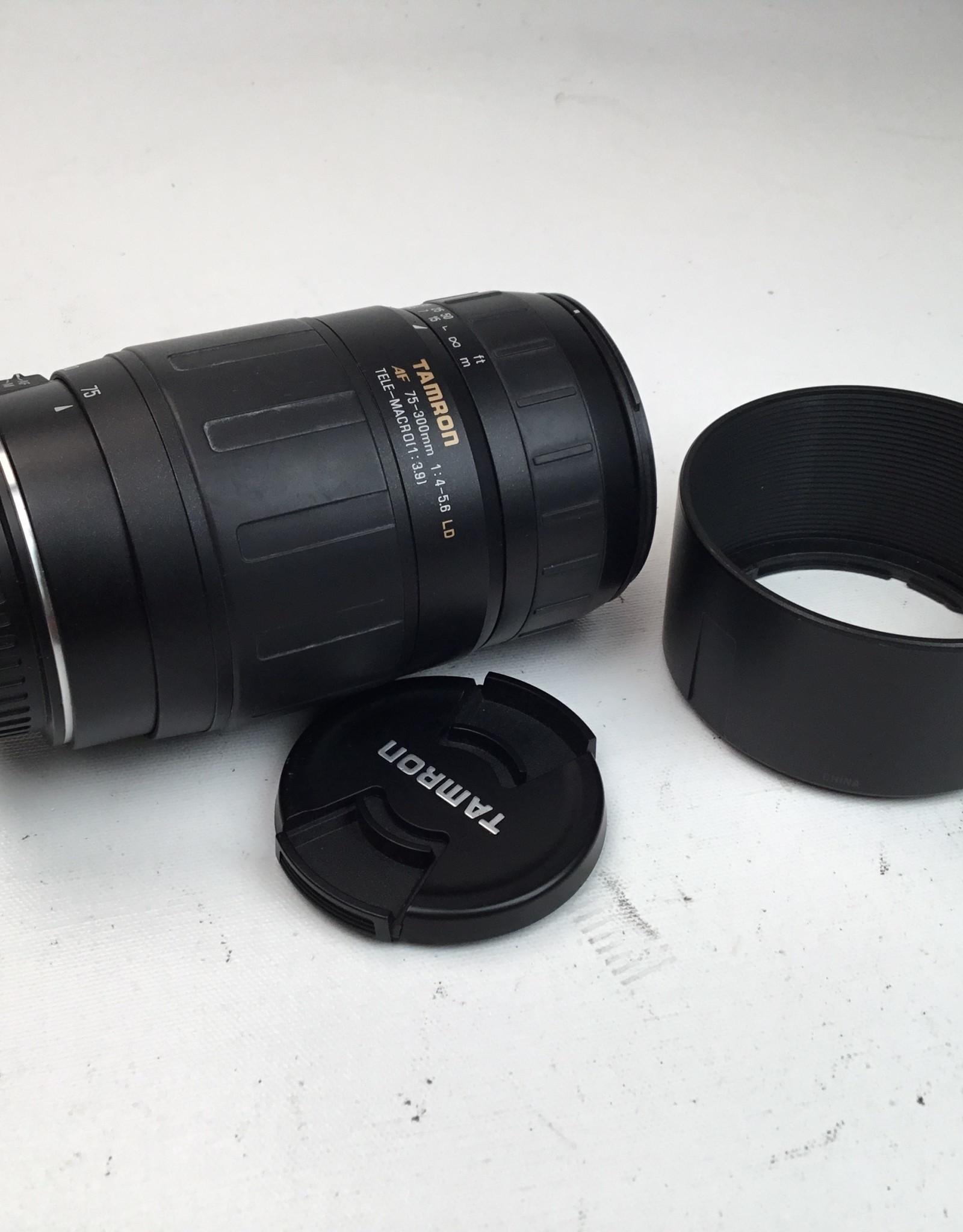TAMRON Tamron 75-300mm f4-5.6 LD Lens for Nikon Used Good