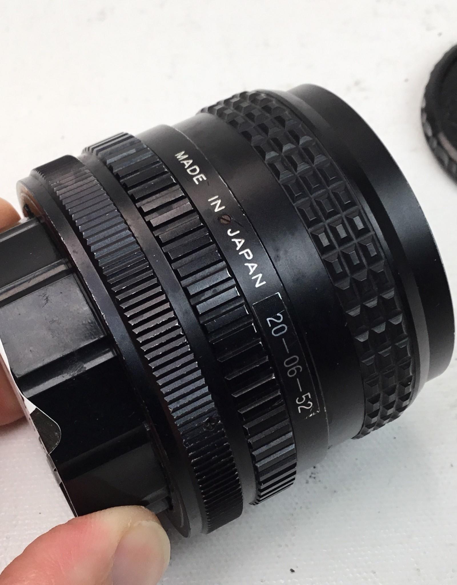 Focal 28mm f2.8 Lens for Canon FD Used Fair
