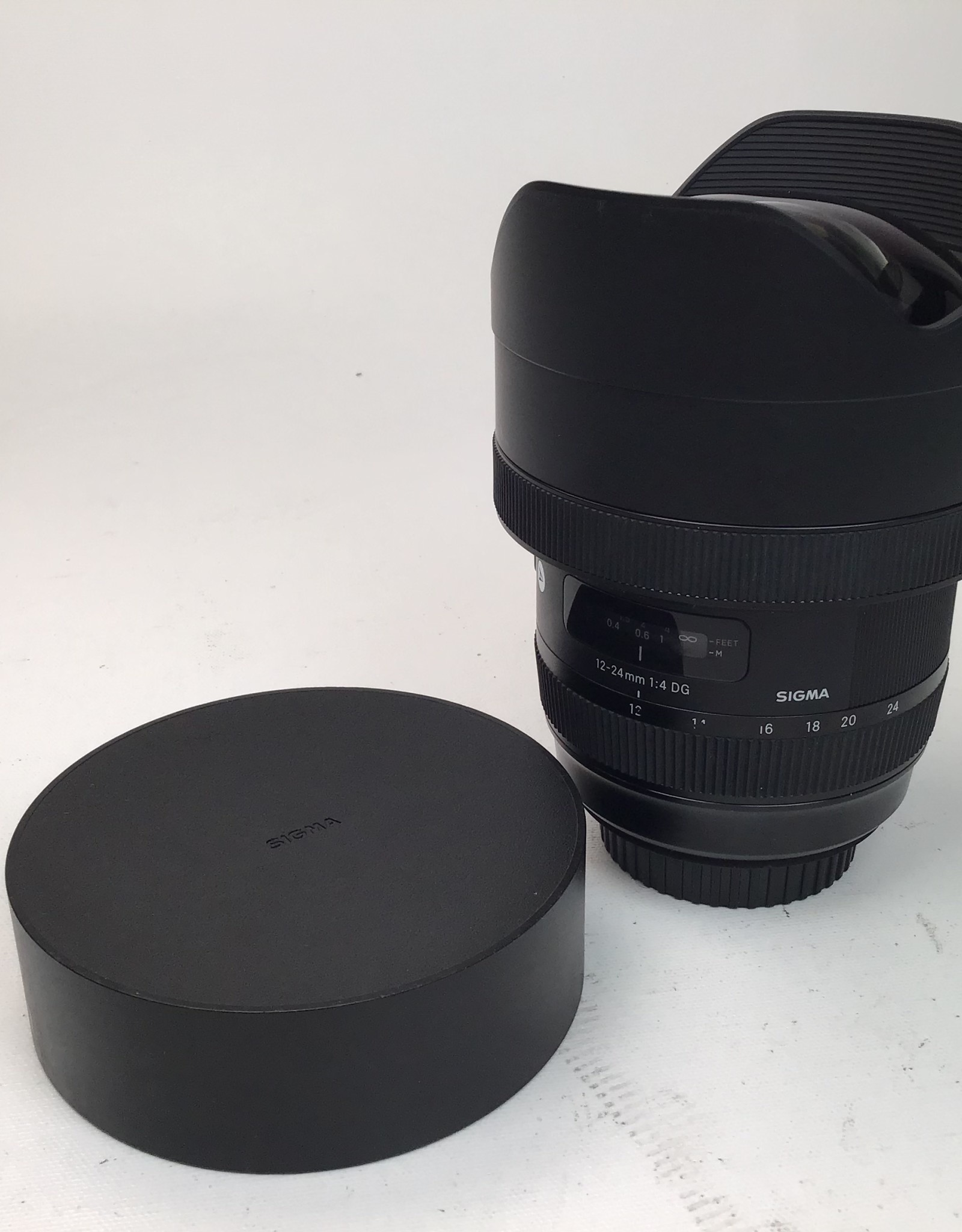 SIGMA Sigma 12-24mm f4 DG Art Lens for Canon Used Good