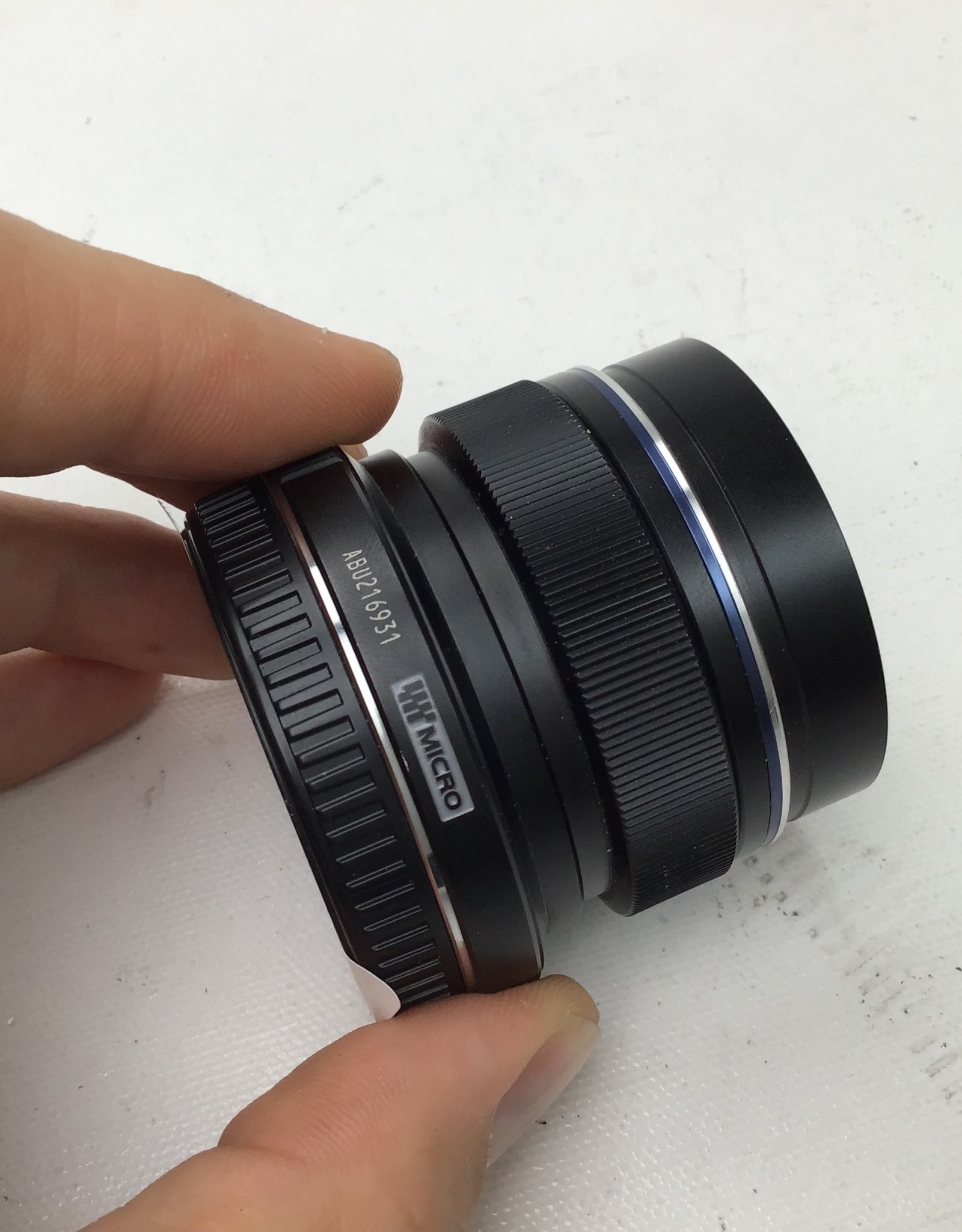 OLYMPUS Olympus 12mm f2.0 Lens with Hood Used Good