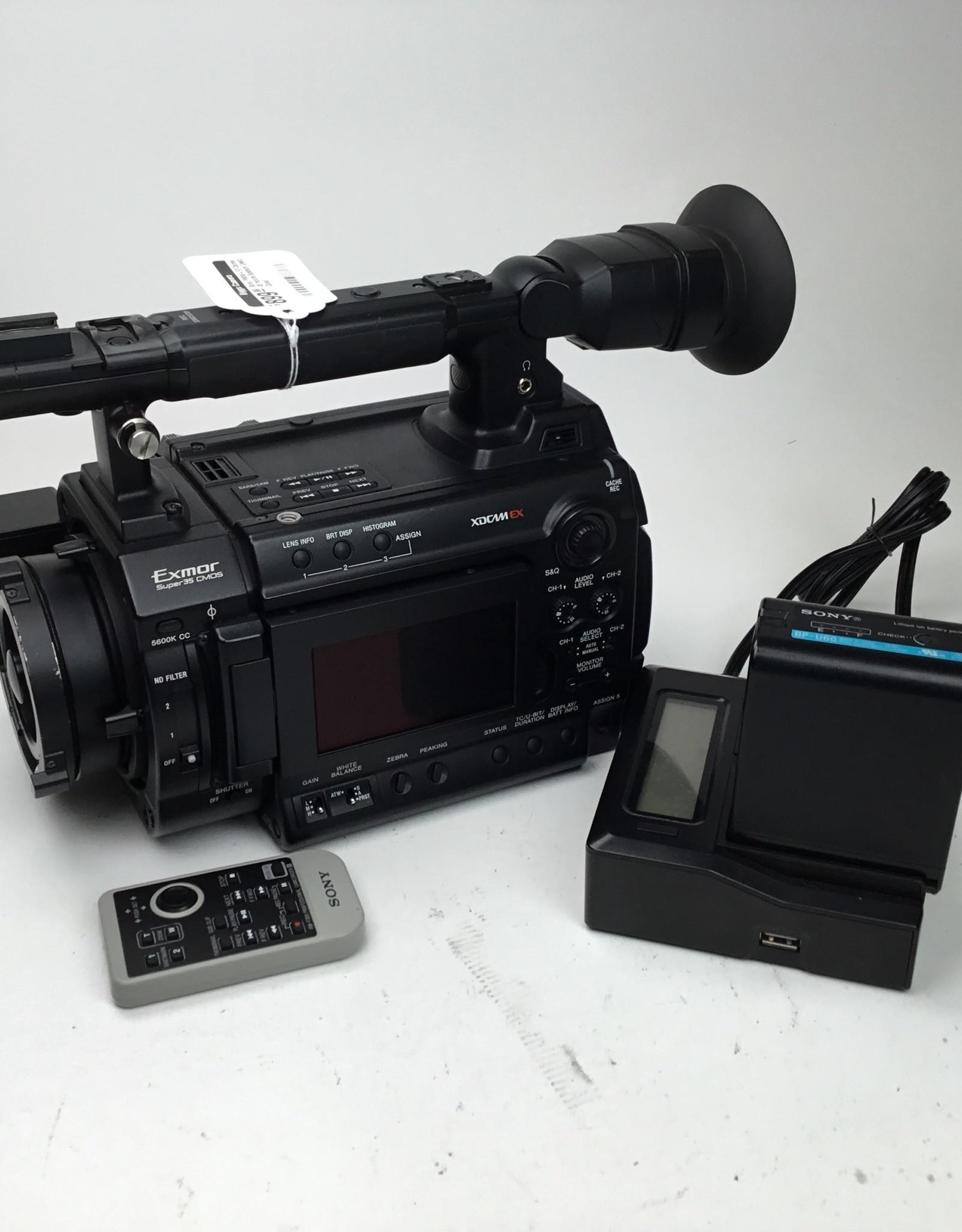 SONY Sony PMW-F3 Camera 49 Hours System Used Good
