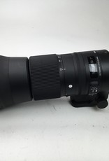 SIGMA Sigma 150-600mm f5-6.3 DG Contemporary Lens for Nikon Used Good