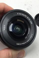 SONY Sony SELP1650 16-50mm PZ Lens Black Used Good