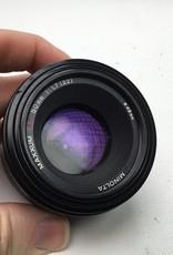 Minolta Sony Maxxum 50mm f1.7 Lens Used Fair