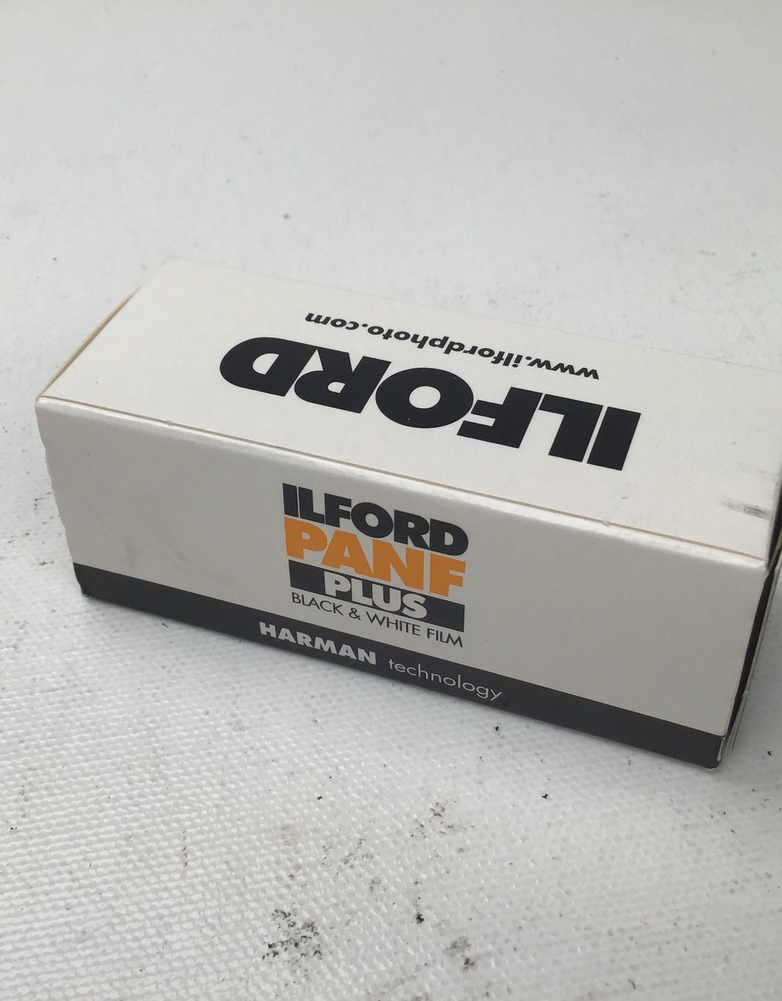 Ilford Pan F Plus 50 B&W 120 Film EXPIRED (3/21)
