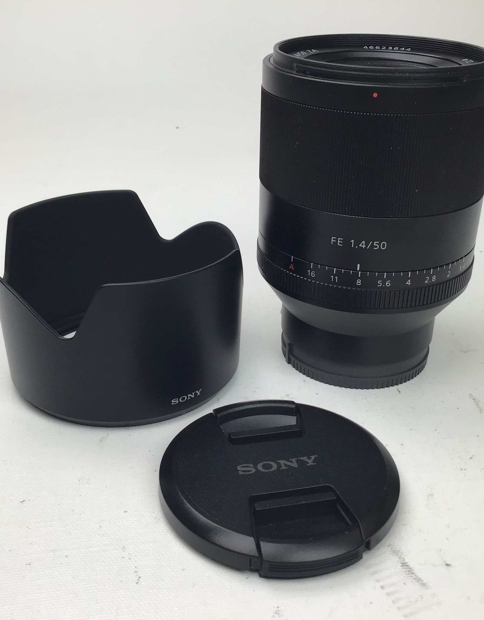 SONY Sony Zeiss Planar FE 50mm f1.4 ZA lens Used Good