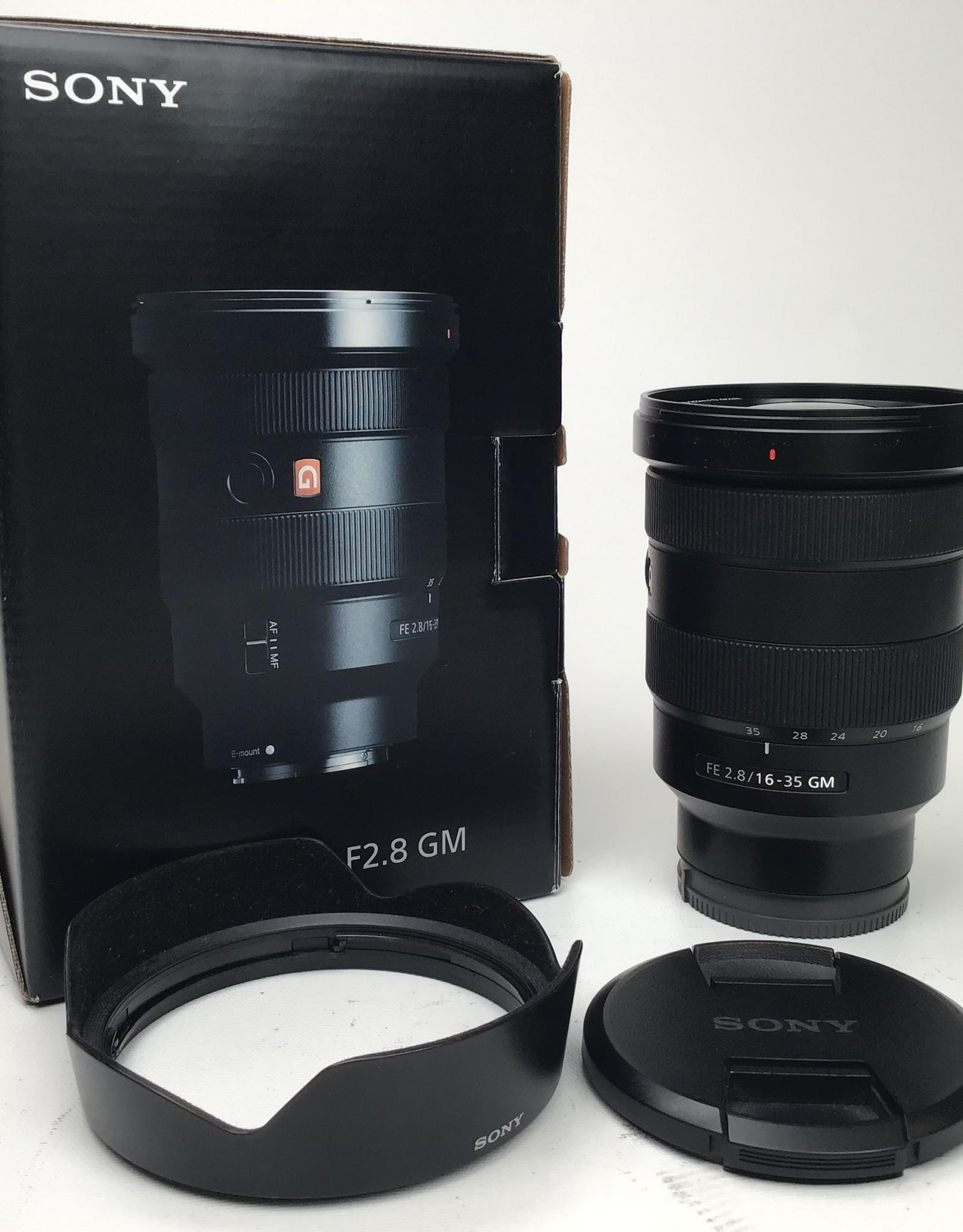 SONY Sony FE 16-35mm f2.8 GM Lens Used EX