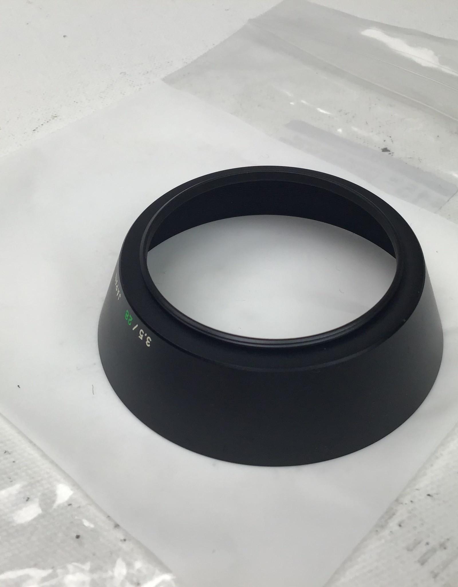 OLYMPUS Olympus 49mm Thread Lens Hood for OM 28mm f3.5 Used EX