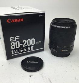 CANON Canon EF 80-200mm f4.5-5.6 II Lens Used EX