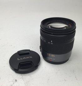 PANASONIC Panasonic G Vario 14-45mm f3.5-5.6 Mega OIS Lens Used EX