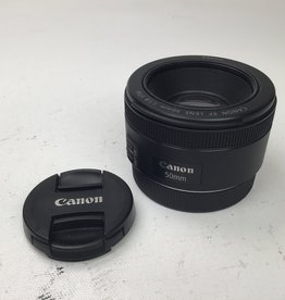 CANON Canon 50mm f1.8 STM Lens Used EX
