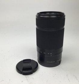 SONY Sony E 55-210mm f4.5-6.3 OSS Lens Black Used EX