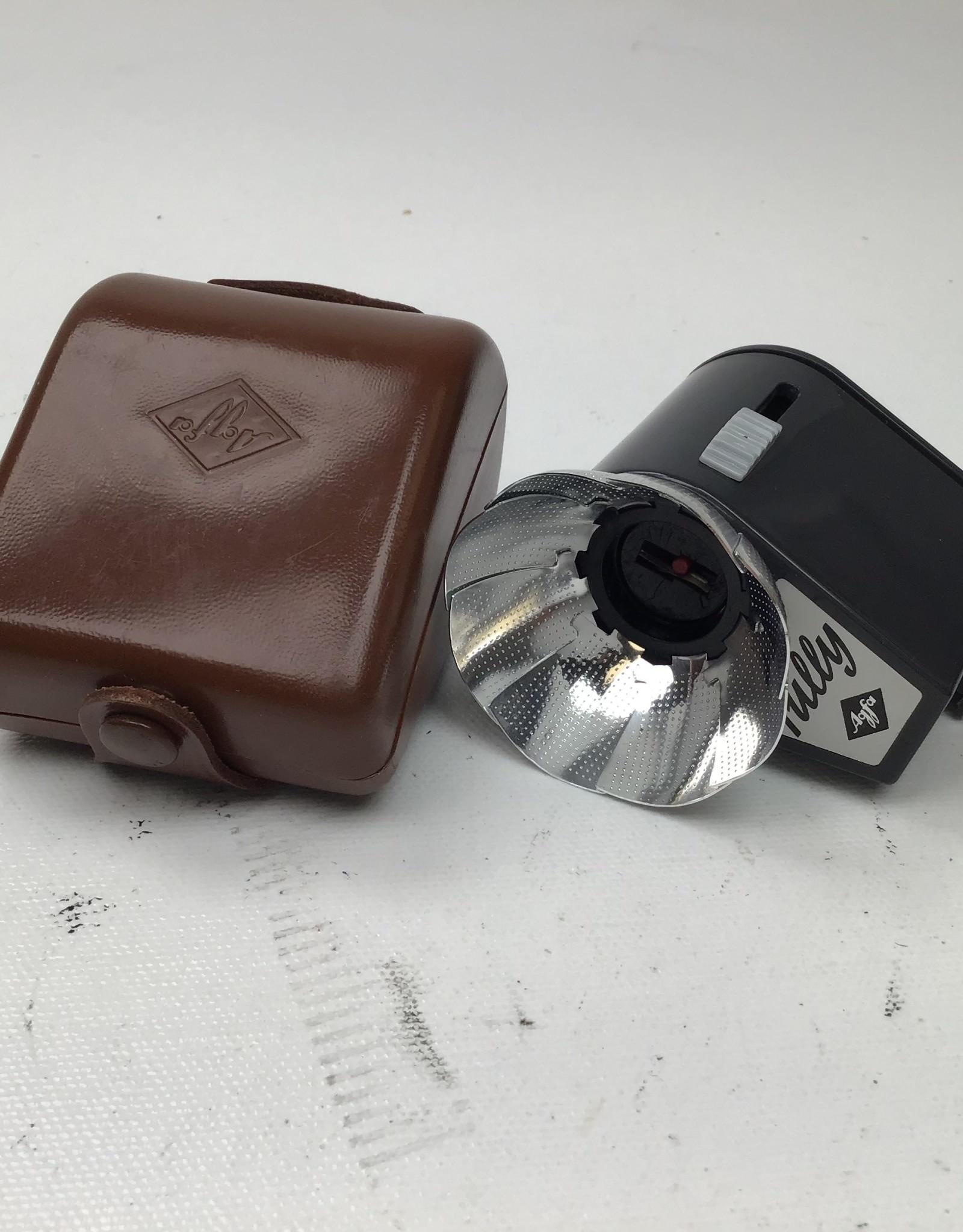 agfa Agfa Tully Flash Bulb Reflector with Case Used EX