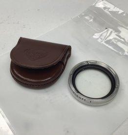 Rolleiflex Rollei Rolleisoft 1 Bay 1 Soft Focus Filter w/ Case Used Good