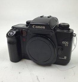 CANON Canon EOS 55 Elan 7E Black Camera Body Used Good