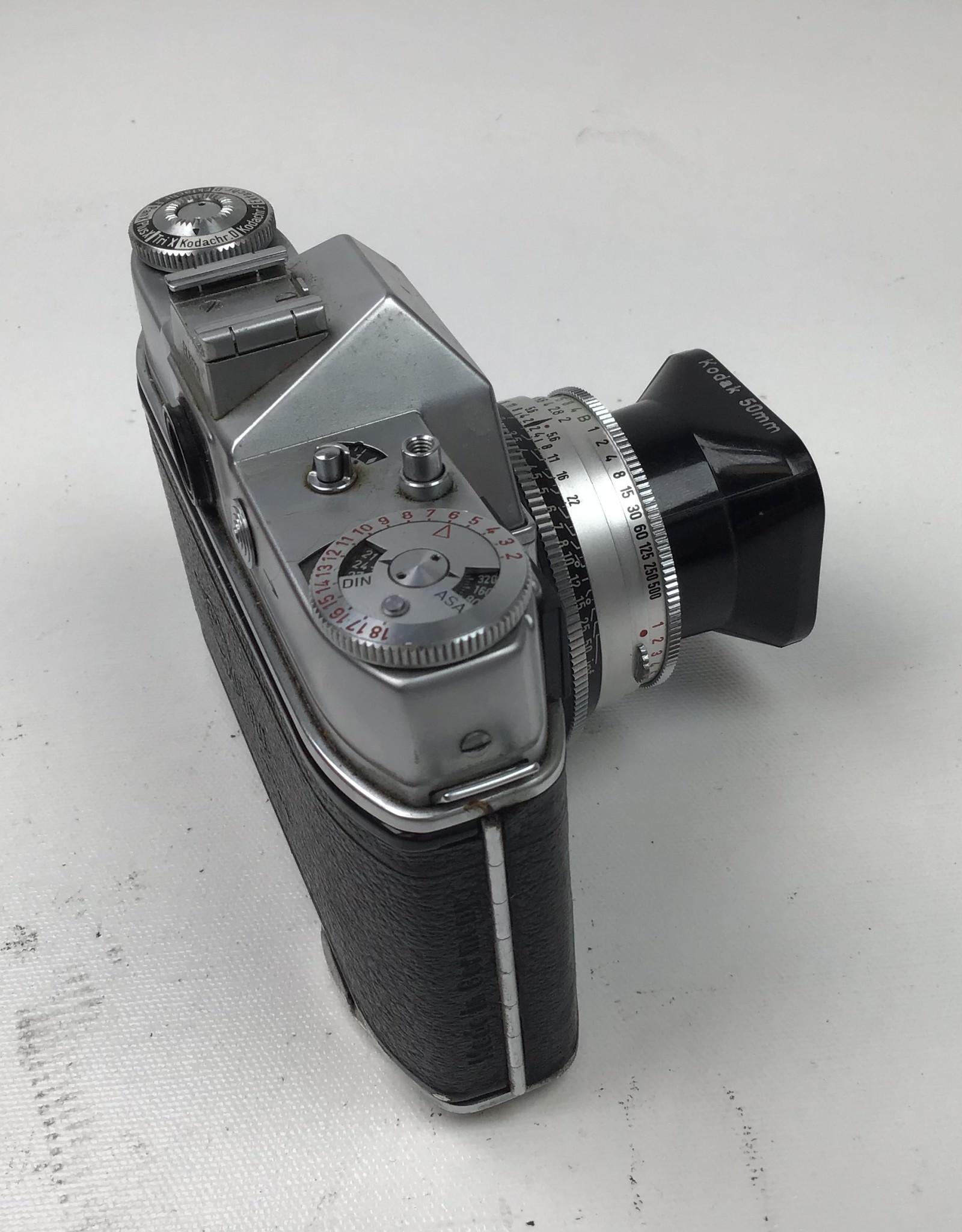 Kodak Retina Reflex Camera with 50mm f2 in Box Used Good