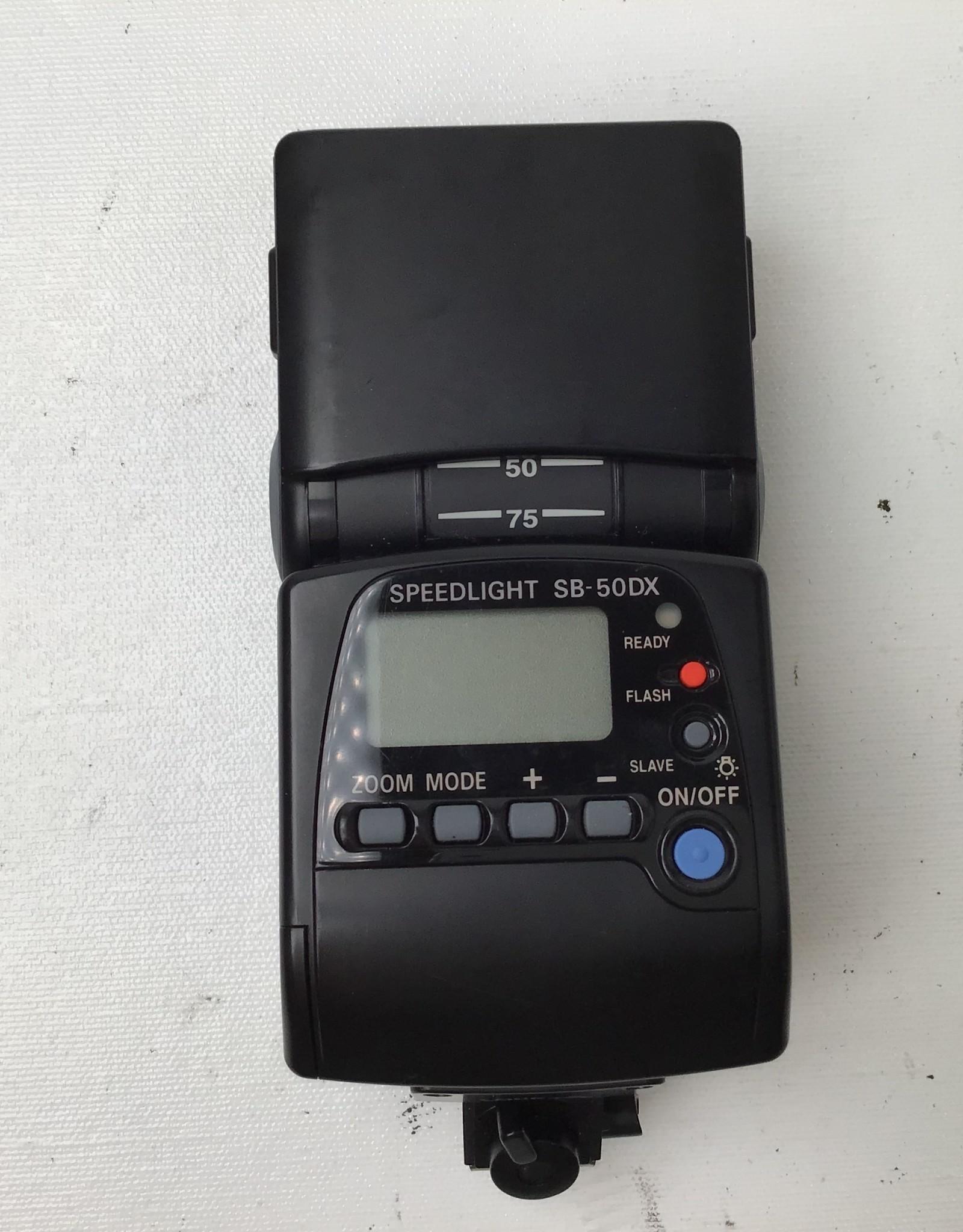 NIKON Nikon Speedlight SB-50DX Flash Used EX