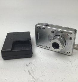 SONY Sony CyberShot DSC-W70 Camera Used Fair