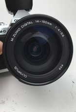OLYMPUS Olympus E-M5II Camera w/ 14-150mm Lens Used EX