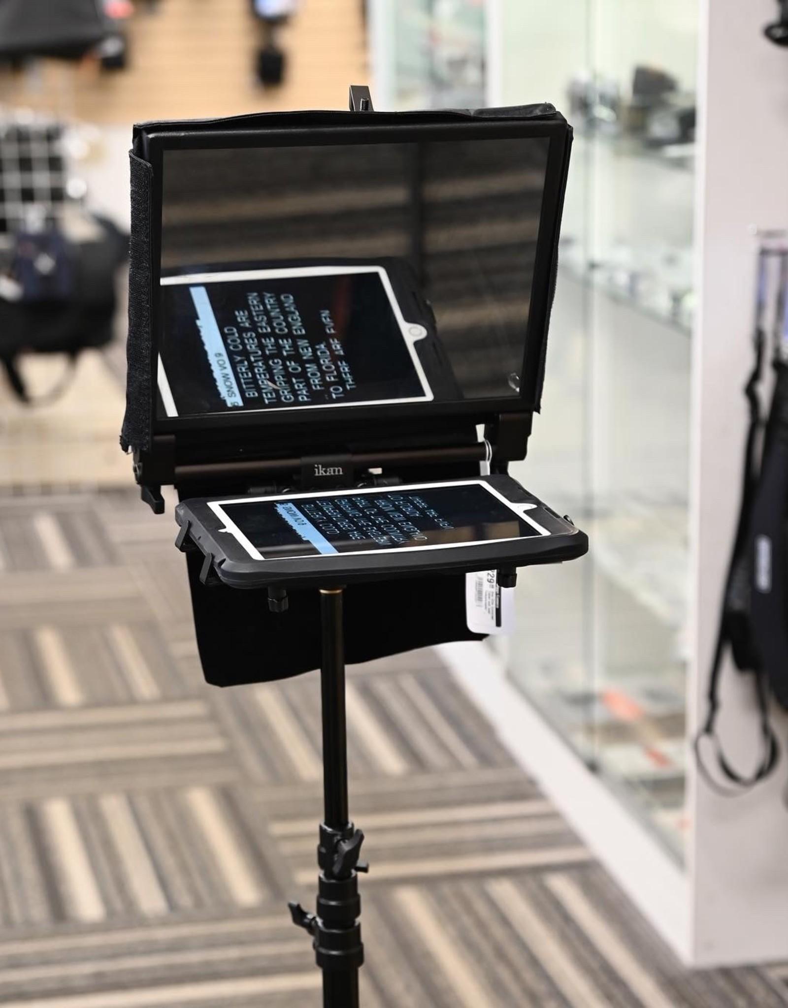 Ikan Ikan Elite Universal Tablet and Ipad Teleprompter Used EX