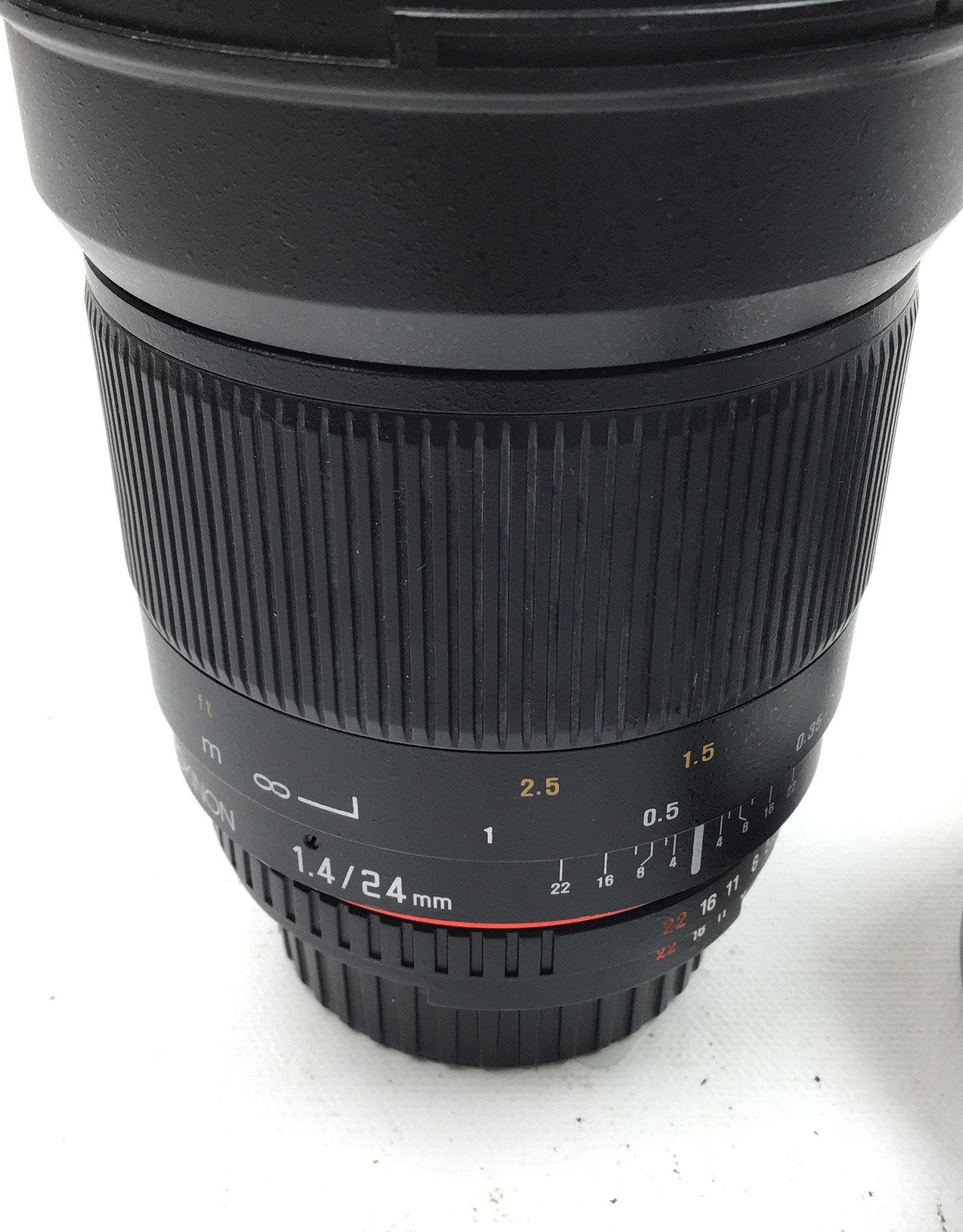 ROKINON Rokinon 24mm f1.4 ED AS IF UMC Lens For Nikon Used Good
