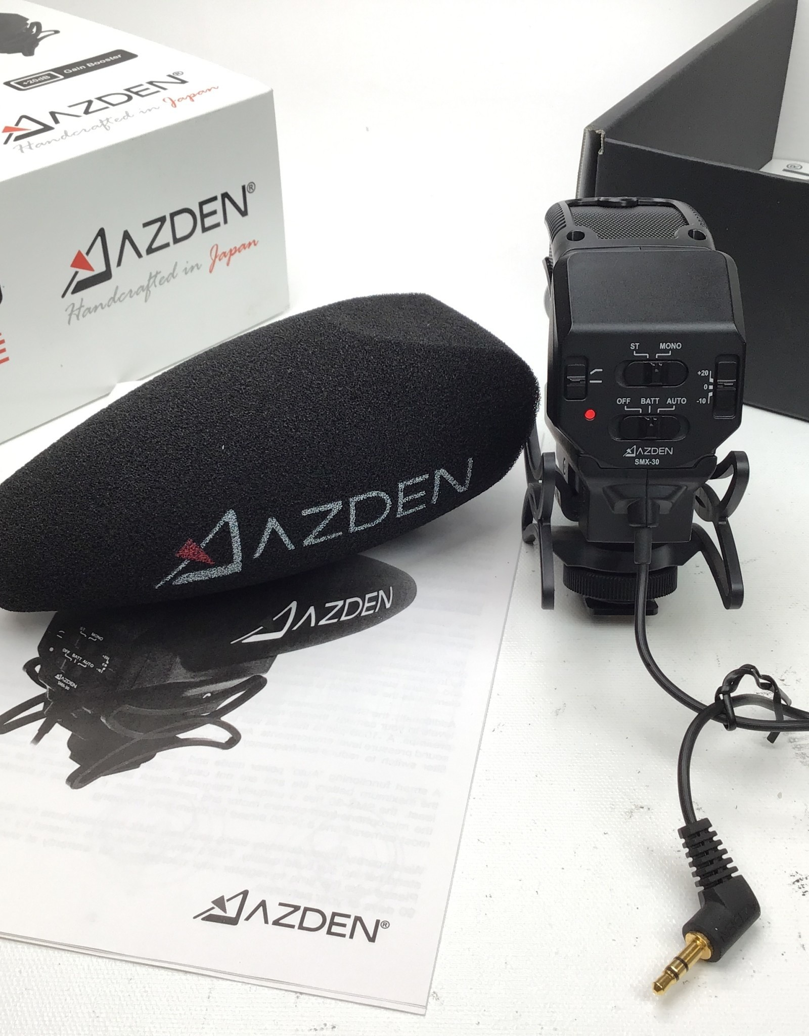 Azden SMX-30 Stereo/Mono Switchable Mic Used LN