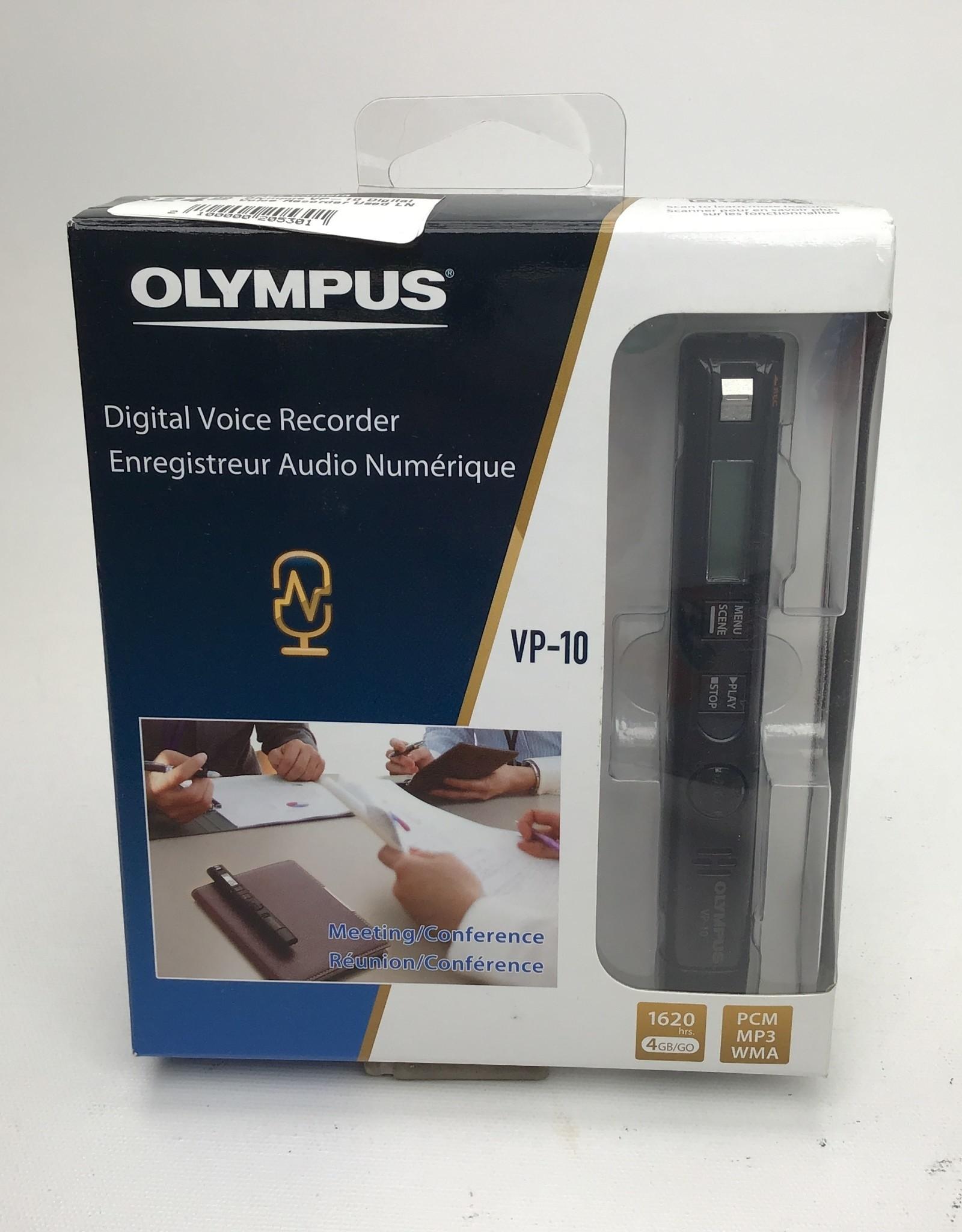 OLYMPUS Olympus VP-10 Digital Voice Recorder Used LN