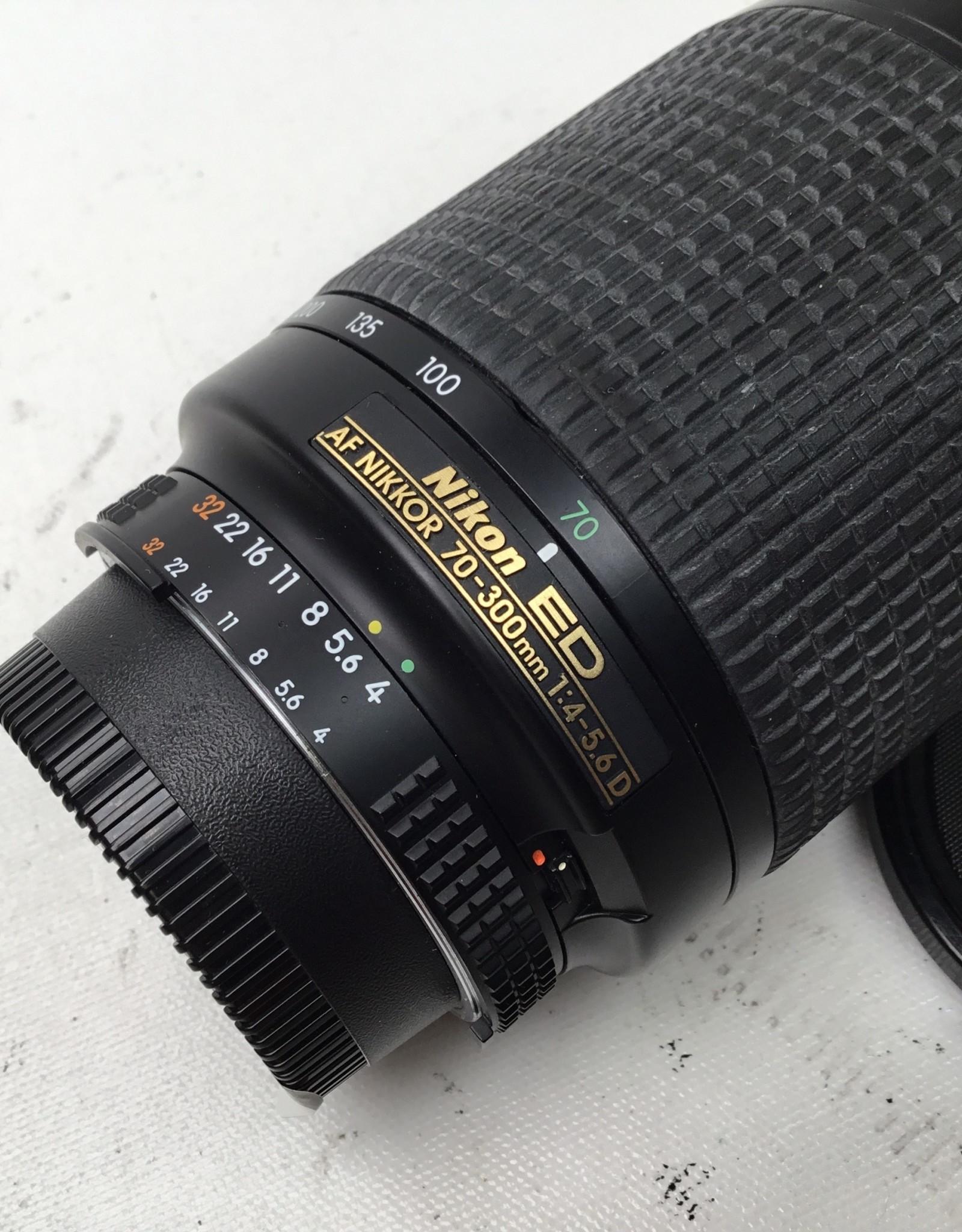 NIKON Nikon AF NIKKOR  70-300 D 4.5.6 Lens Used Fair