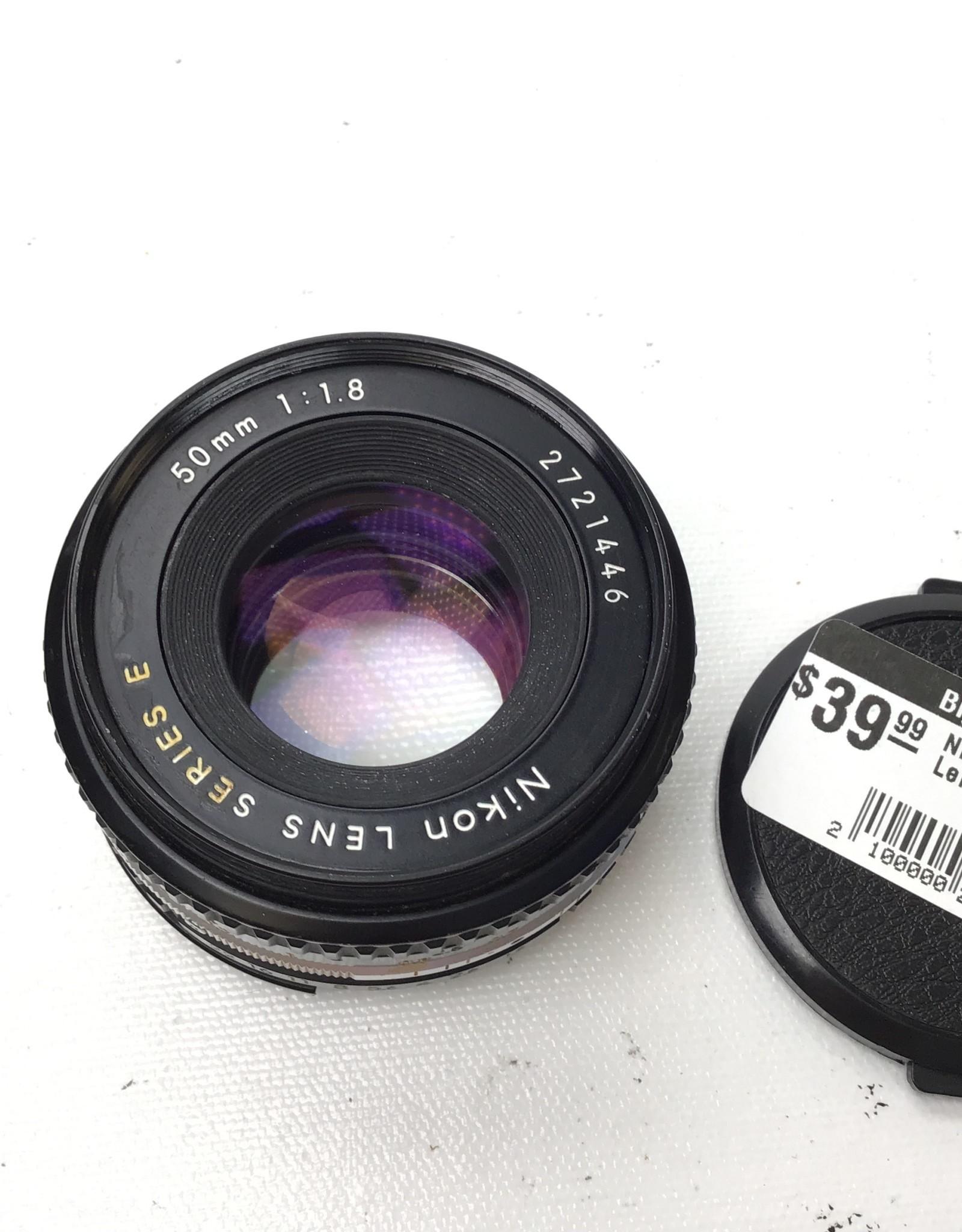 NIKON Nikon Series E 50mm f1.8 Lens Used Good