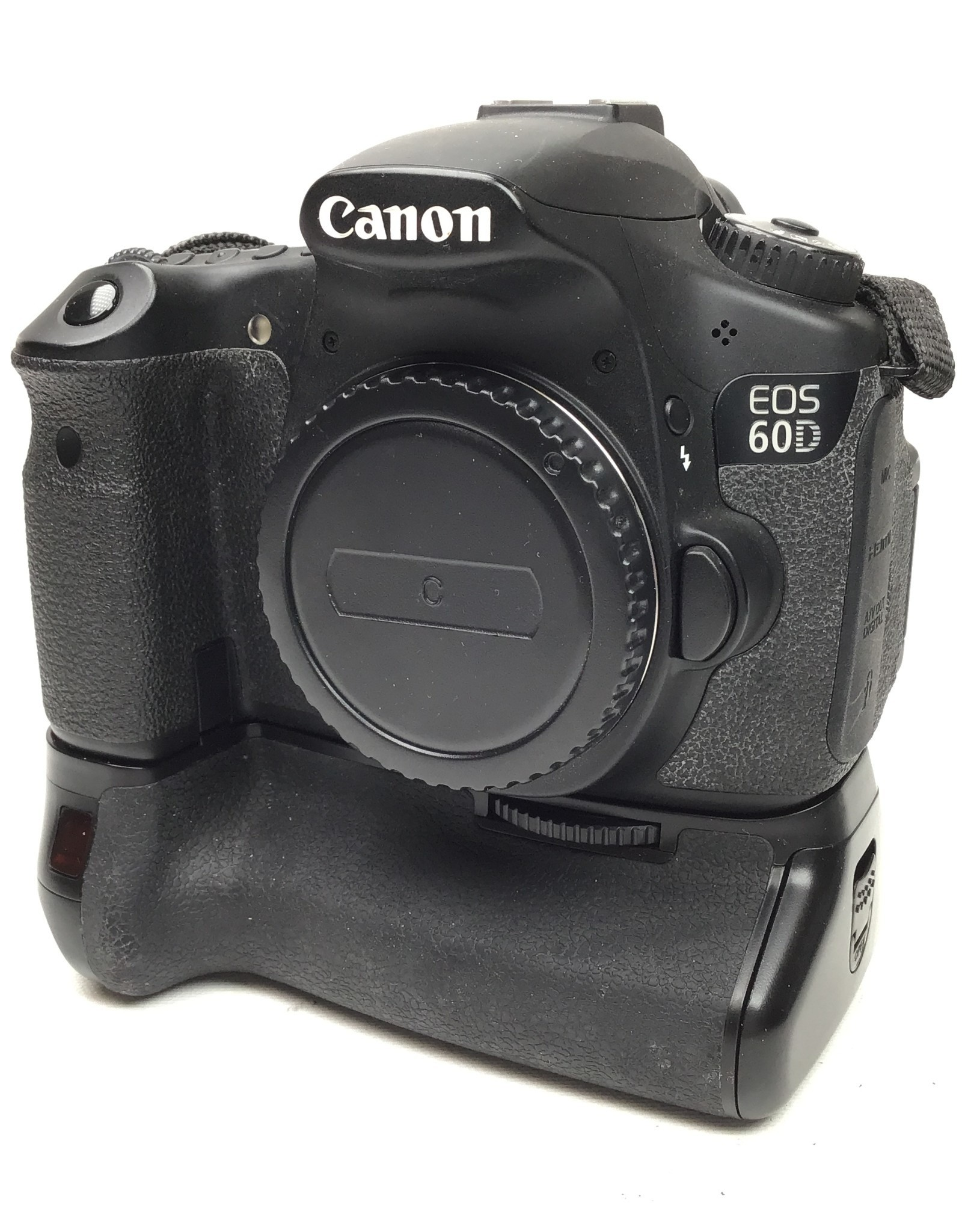 CANON Canon EOS 60D Camera with Power Xtra Grip Used Good