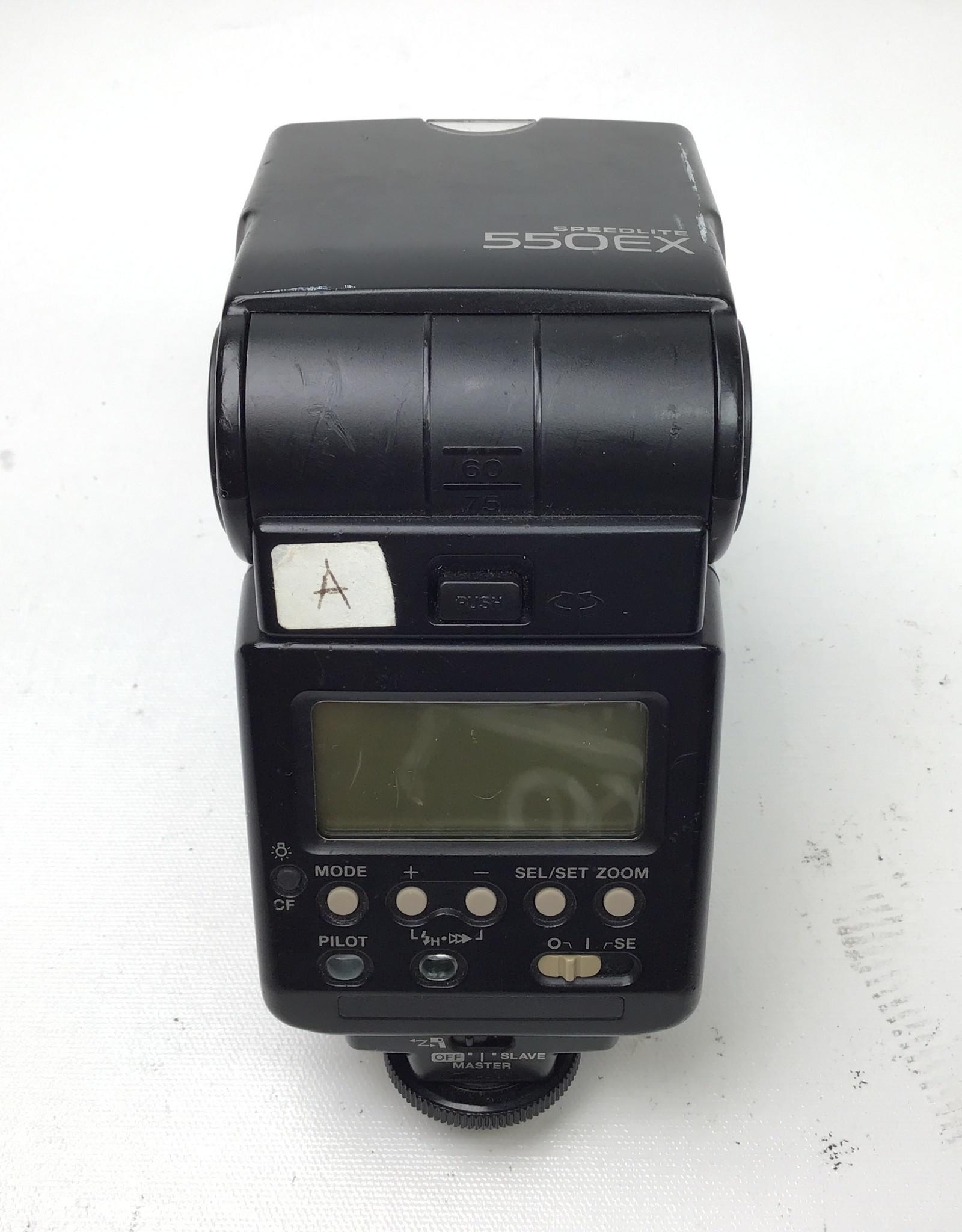 CANON Canon 550EX Speedlite Flash Used Fair