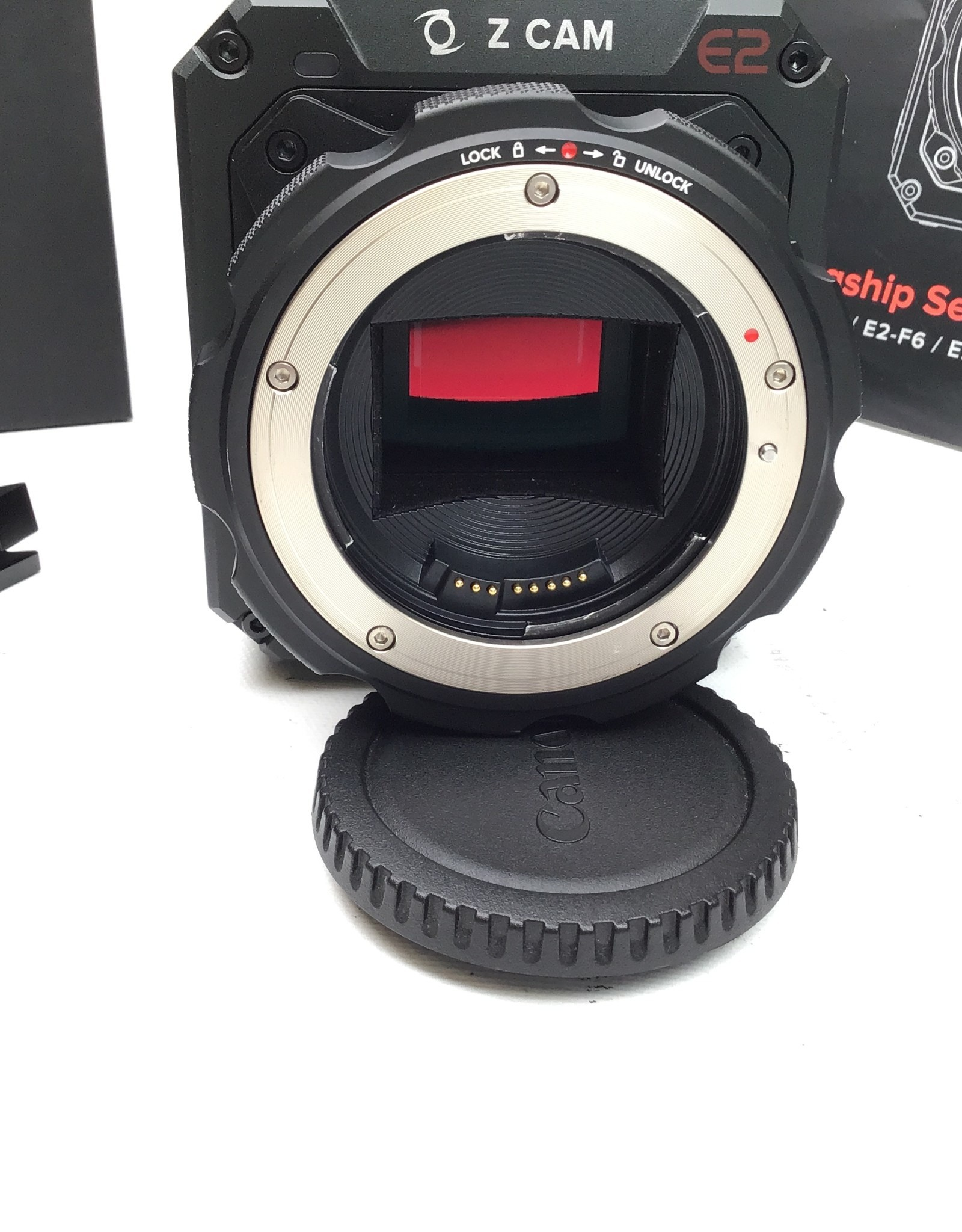 Z Cam Z Cam E2-S6 Camera with Canon EF Mount in Box Used EX