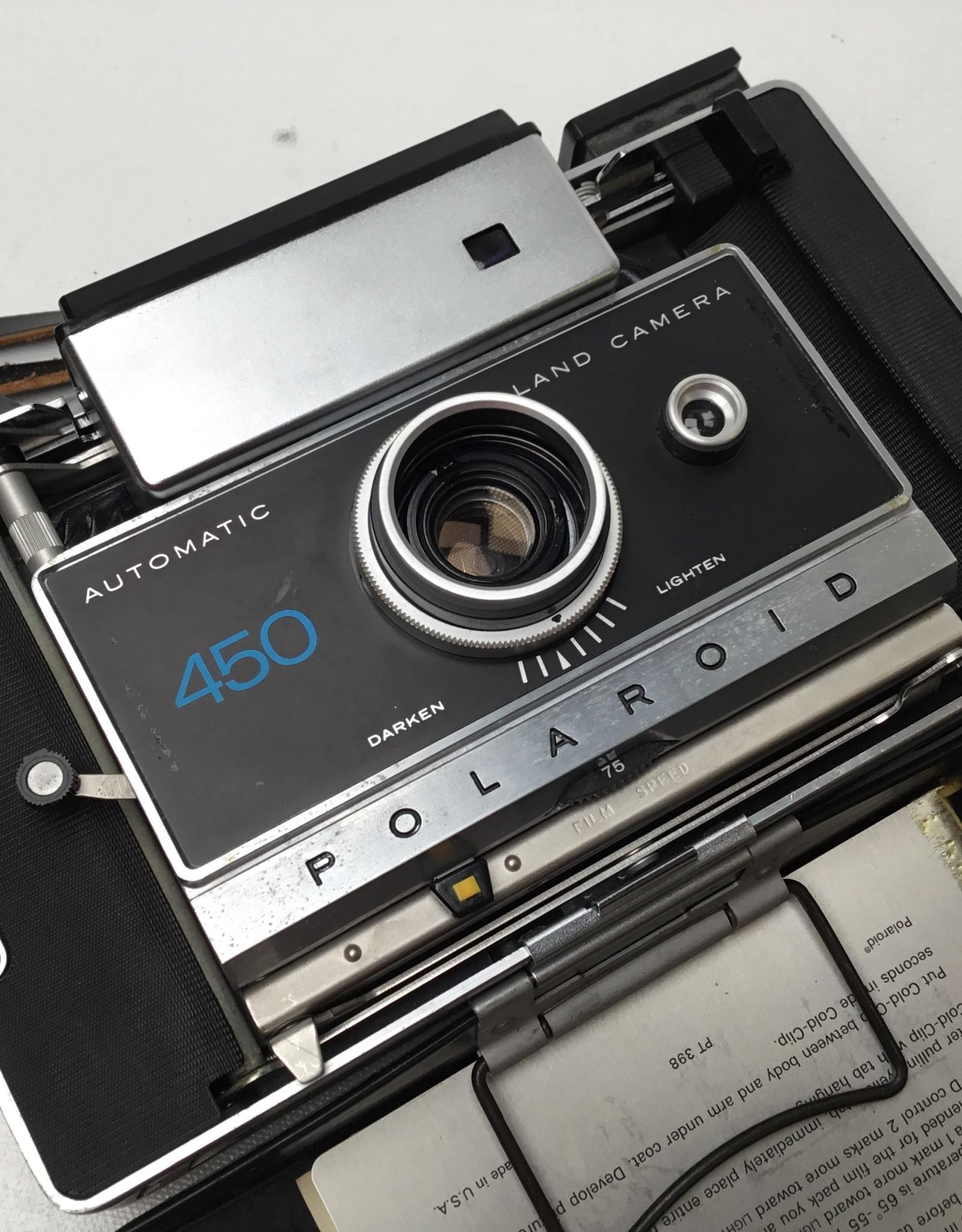 Polaroid 450 Camera Used Disp