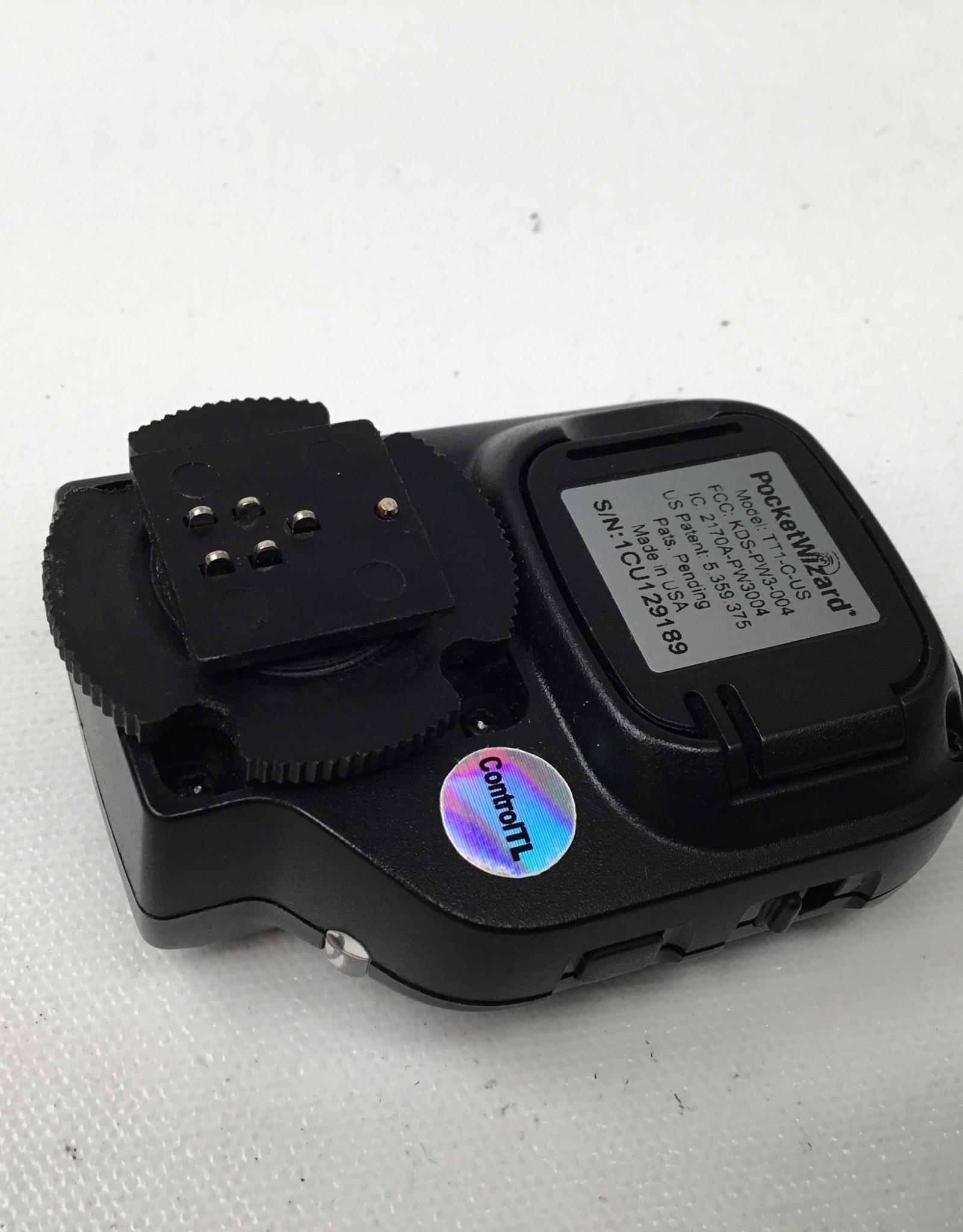POCKET WIZARD PocketWizrd TT1 for Nikon Cameras Used Good