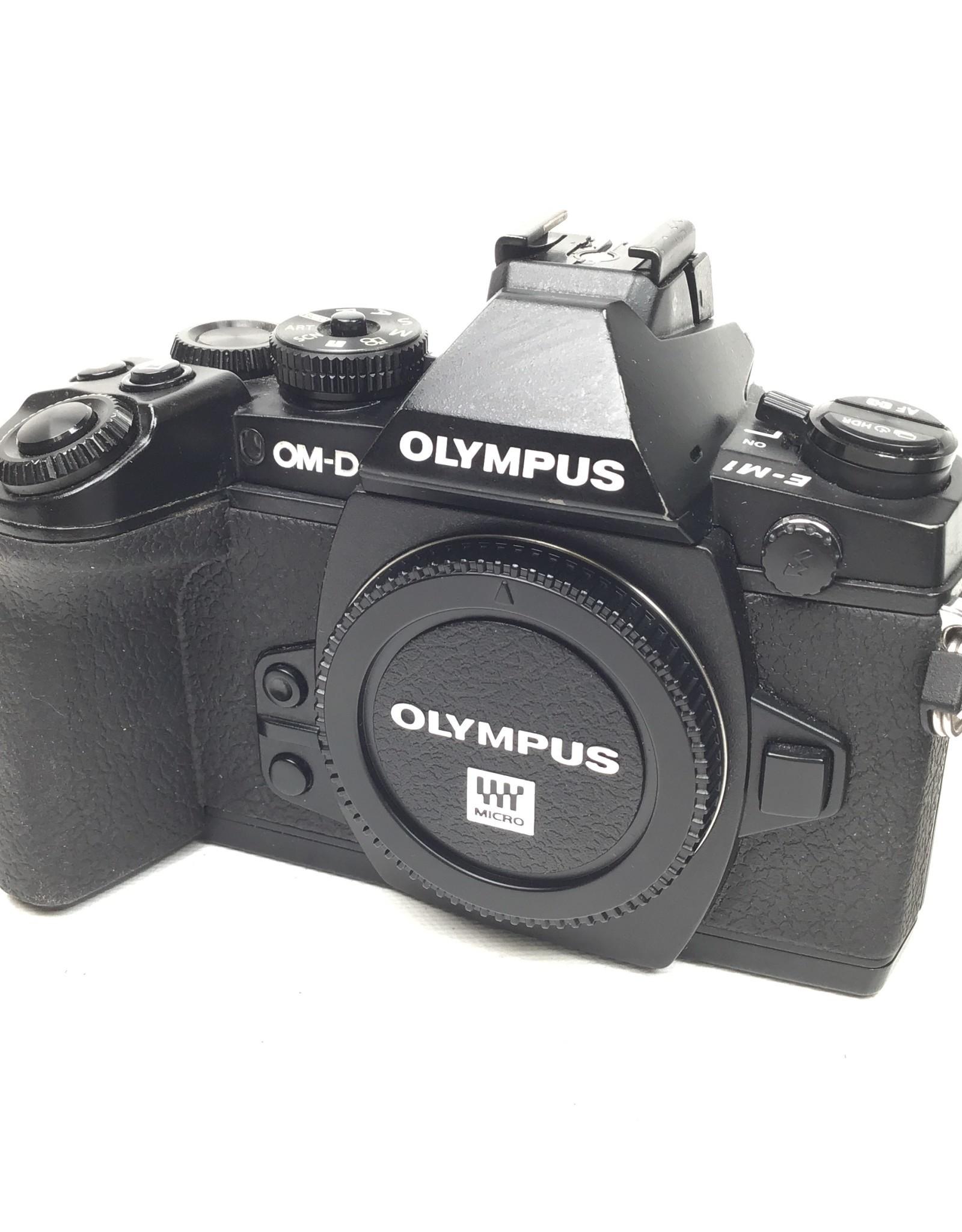 OLYMPUS Olympus OM-D E-M1 Black Camera Used Fair