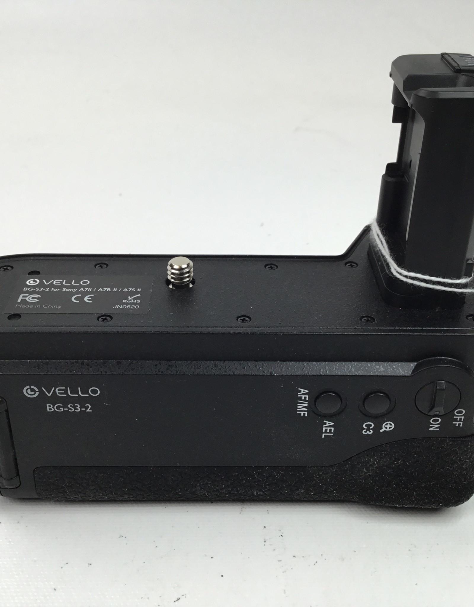 Vello BG-S3 Battery Grip for Sony A7II | A7R II | A7S II Used EX