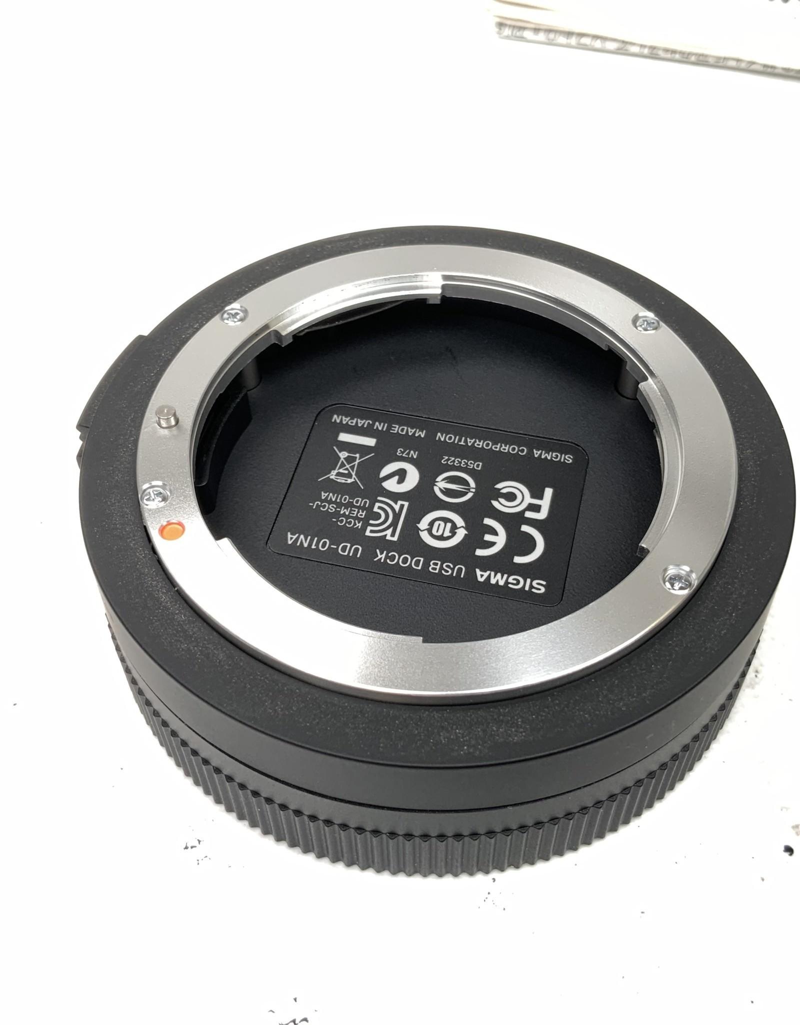 SIGMA Sigma USB Dock UD-01 for Nikon Mount in Box Used EX
