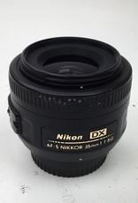 NIKON Nikon AF-S Nikkor 35mm f1.8 G DX Lens Used Good