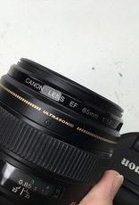 NIKON Canon EF 85mm f1.8 Lens Used EX