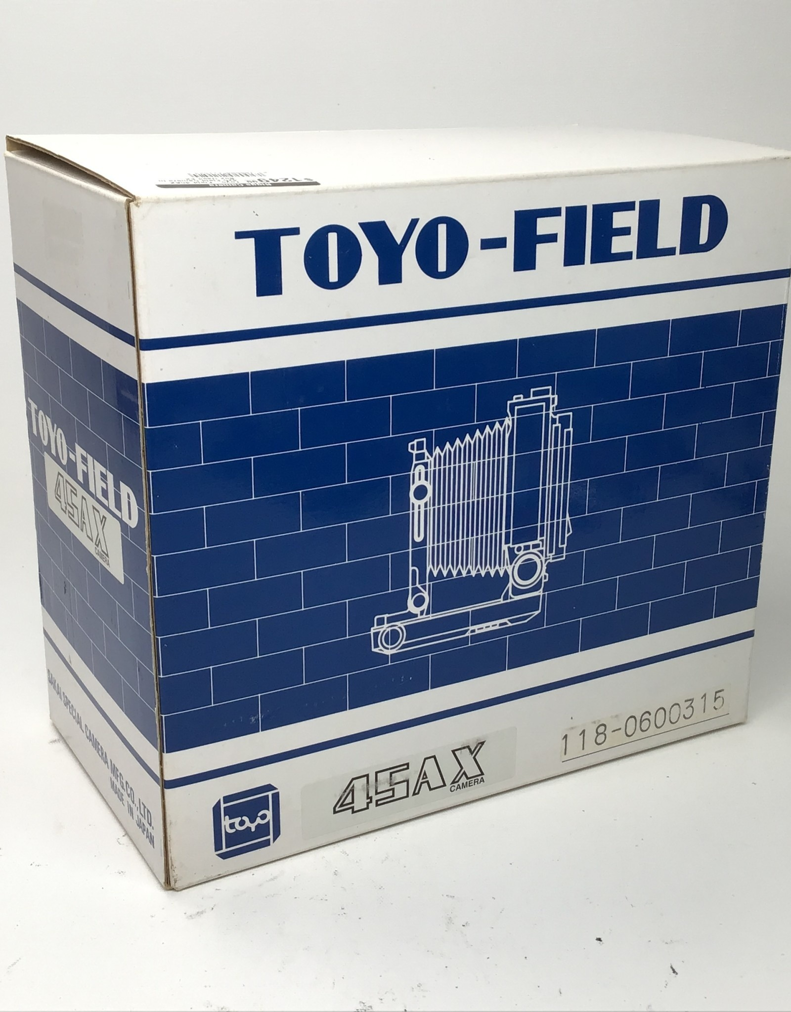 Toyo Toyo-Field 45AX 4x5 Field Camera in Box Used EX